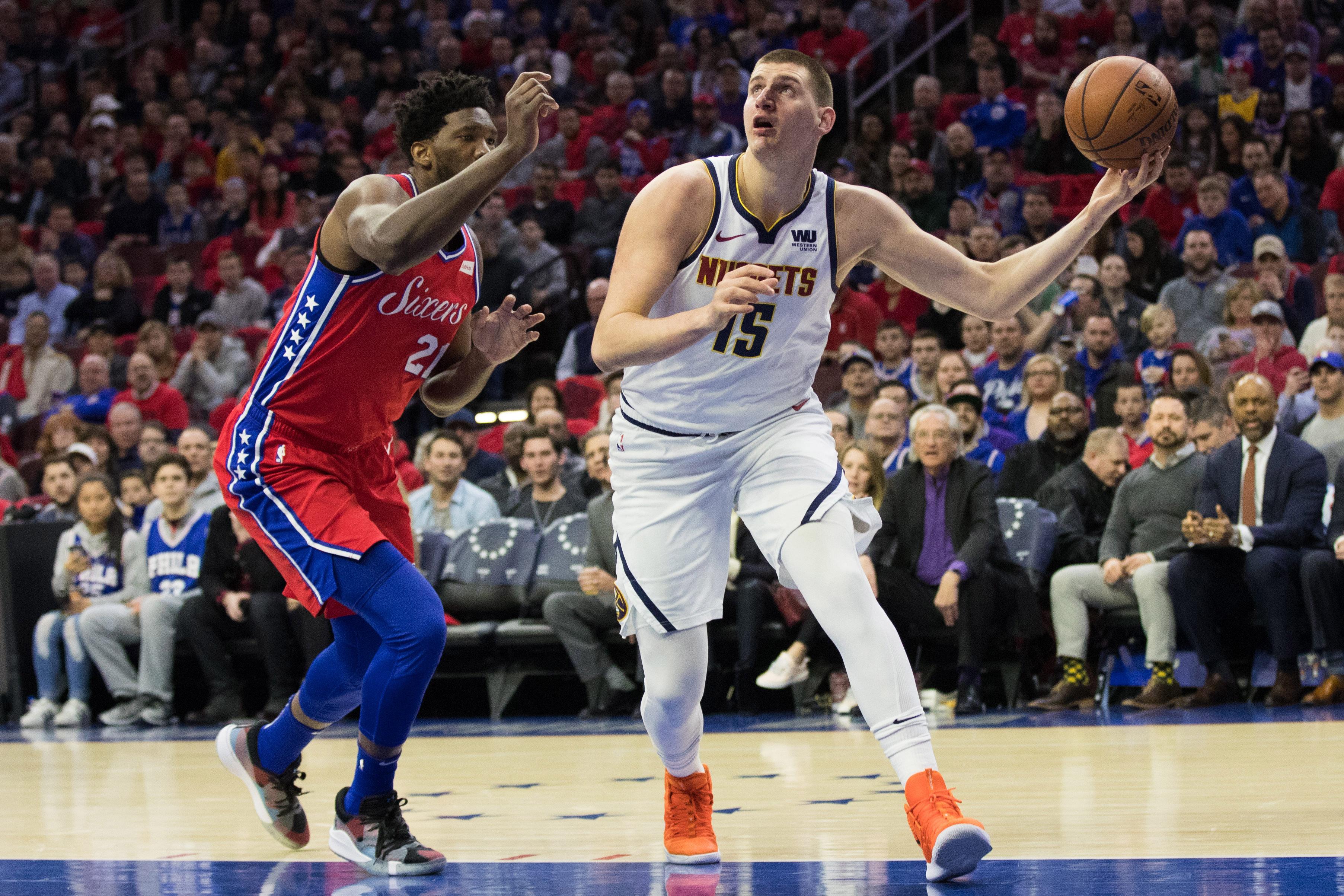 NBA: Denver Nuggets at Philadelphia 76ers