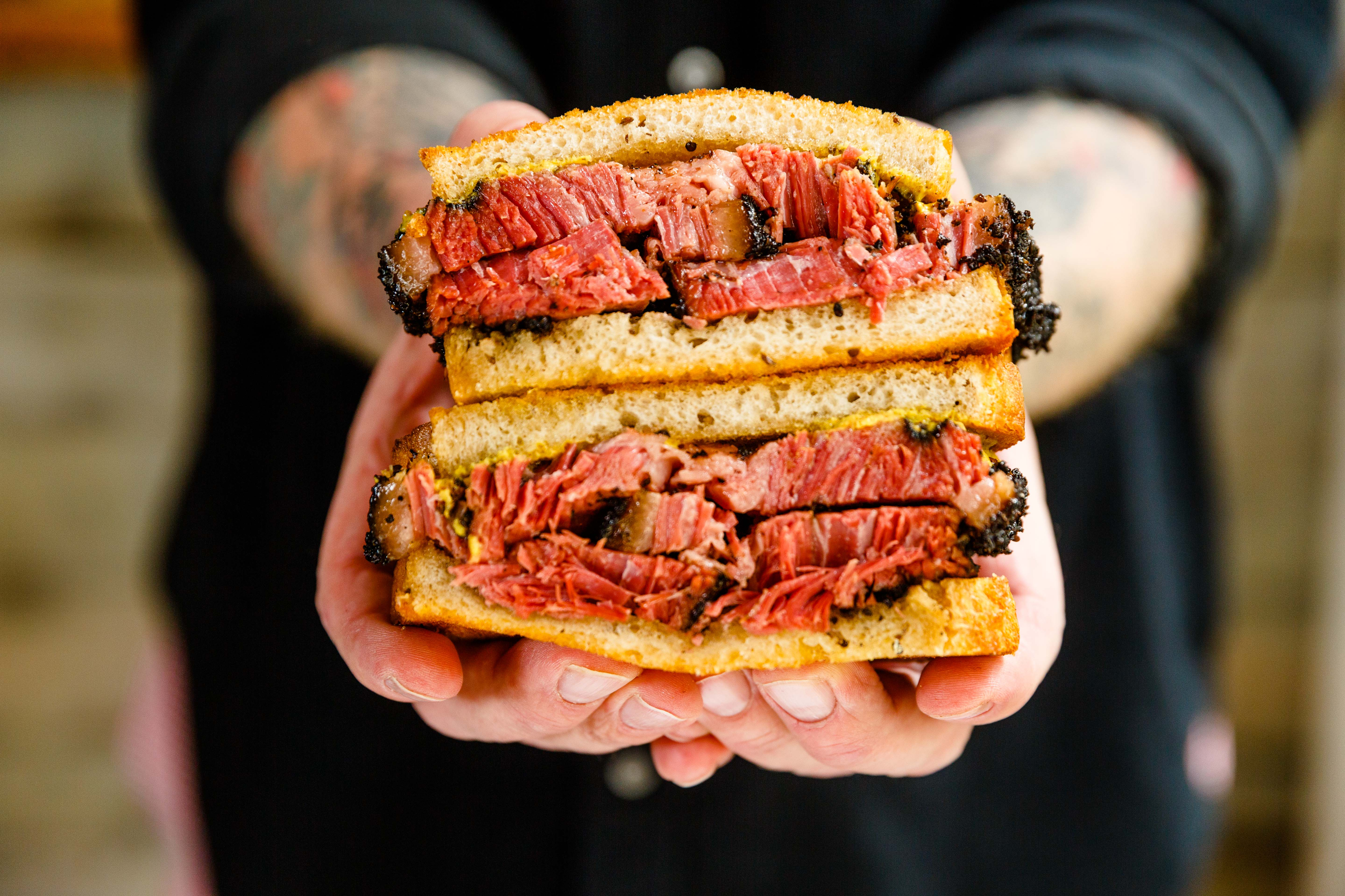Hometown Bar-B-Que Sells New York's Next Great Pastrami Sandwich