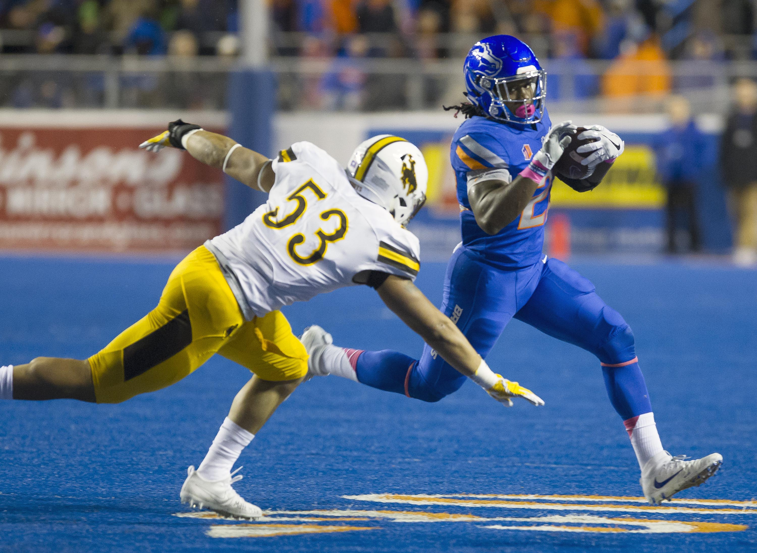 Wyoming at Boise State