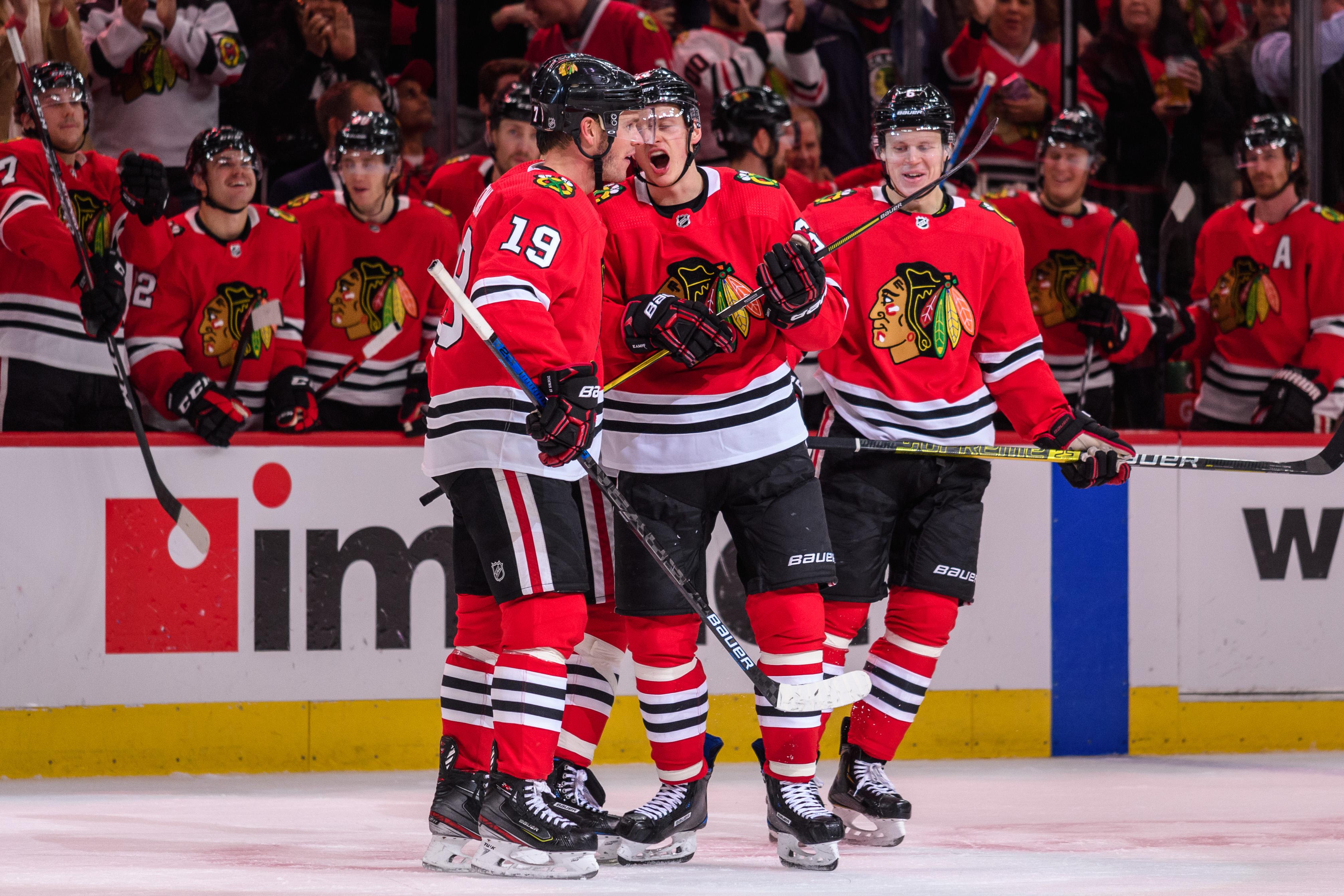 NHL: NOV 07 Canucks at Blackhawks
