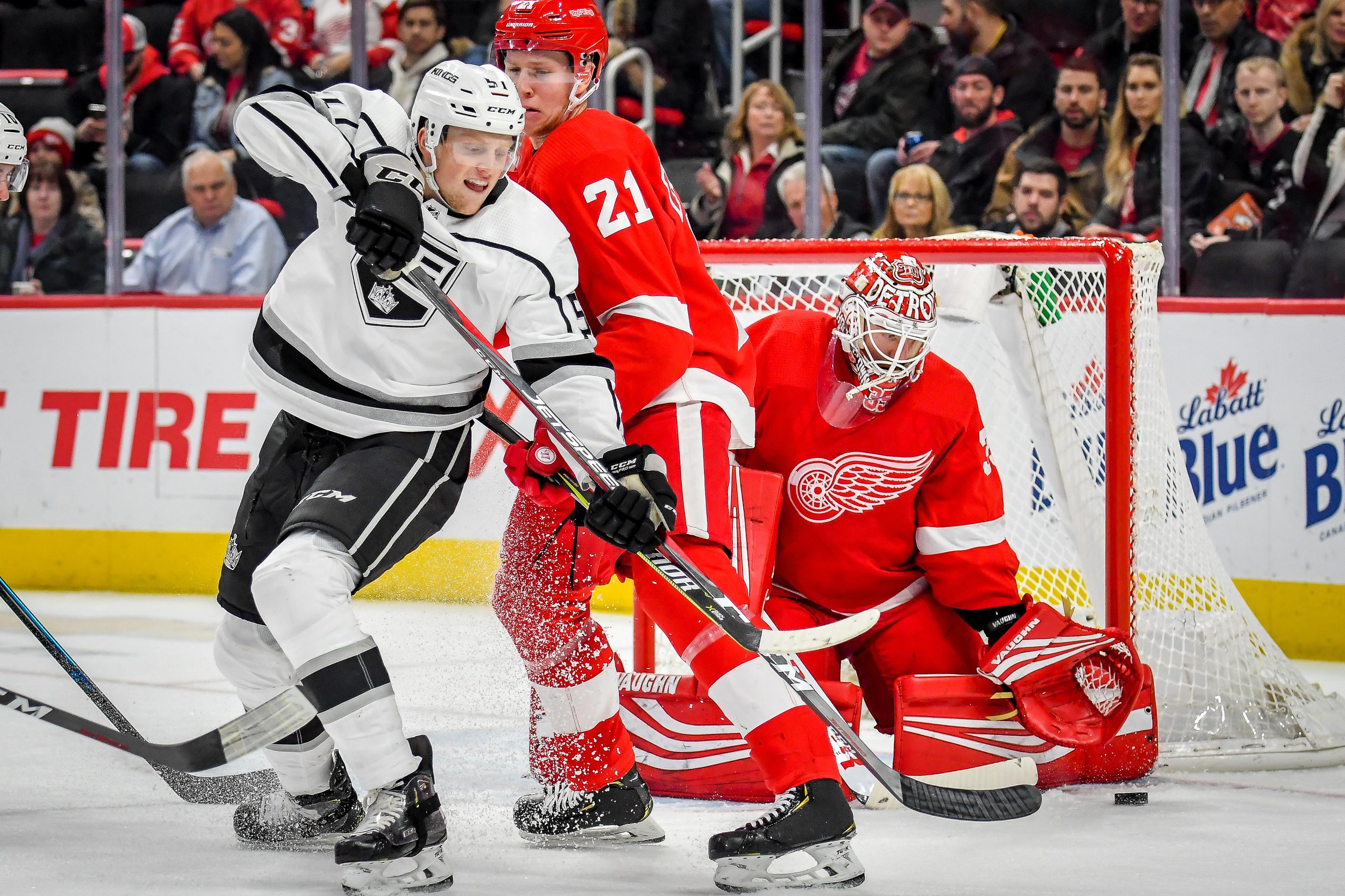 NHL: DEC 10 Kings at Red Wings