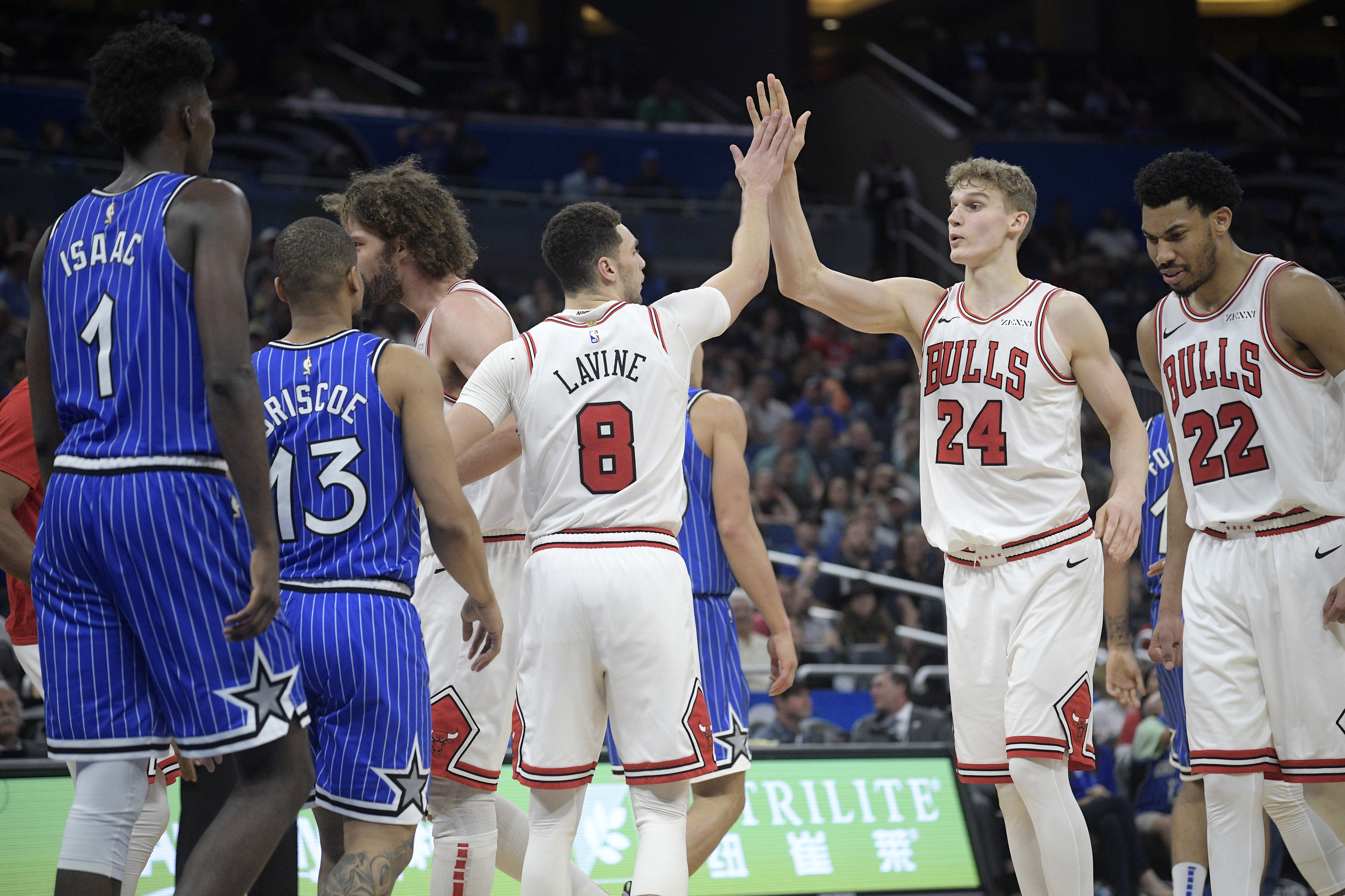 """The Bulls can't wait much longer for Zach LaVine and Lauri Markkanen to """"figure it out.''"""
