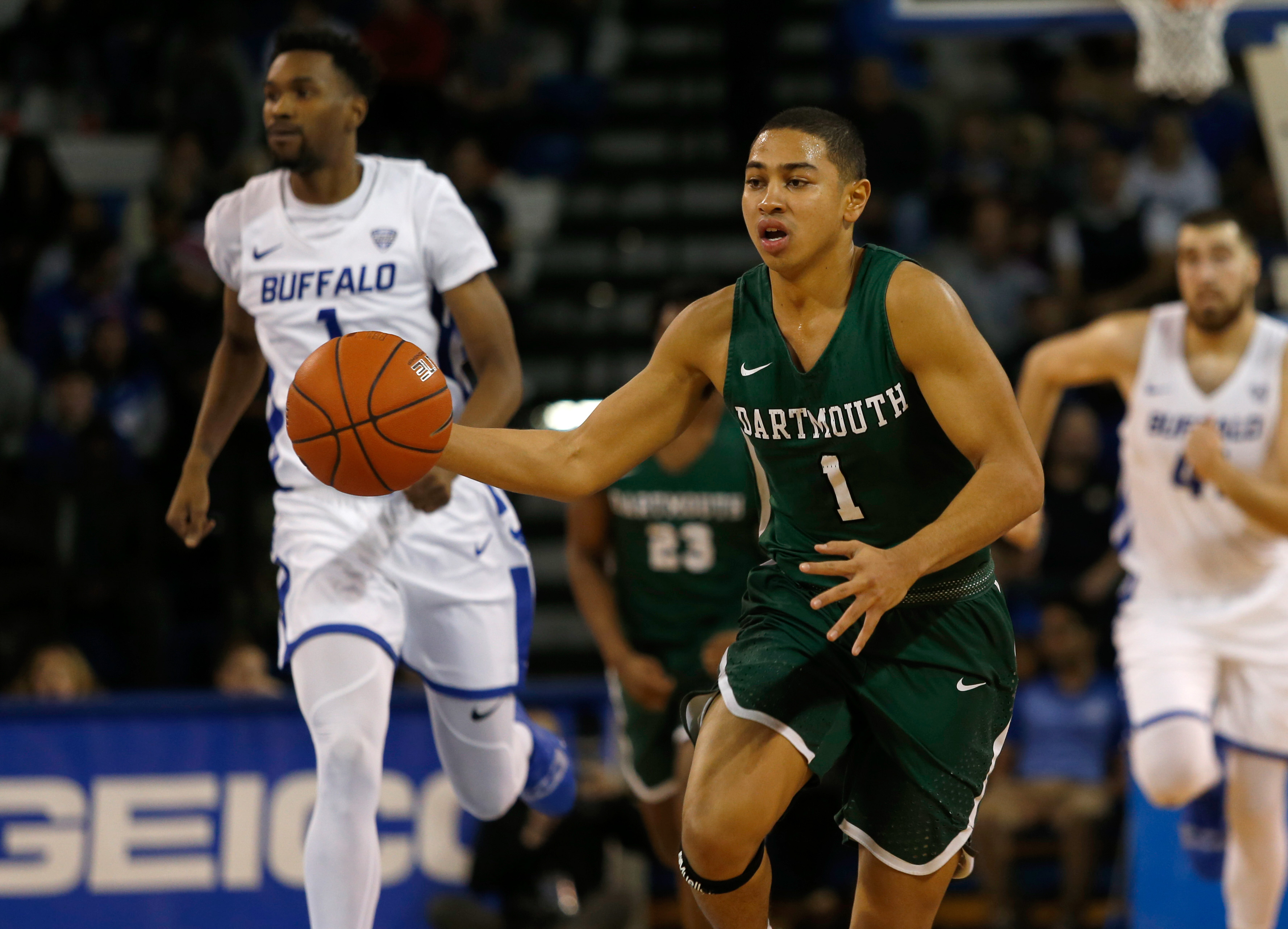 NCAA Basketball: Dartmouth at Buffalo