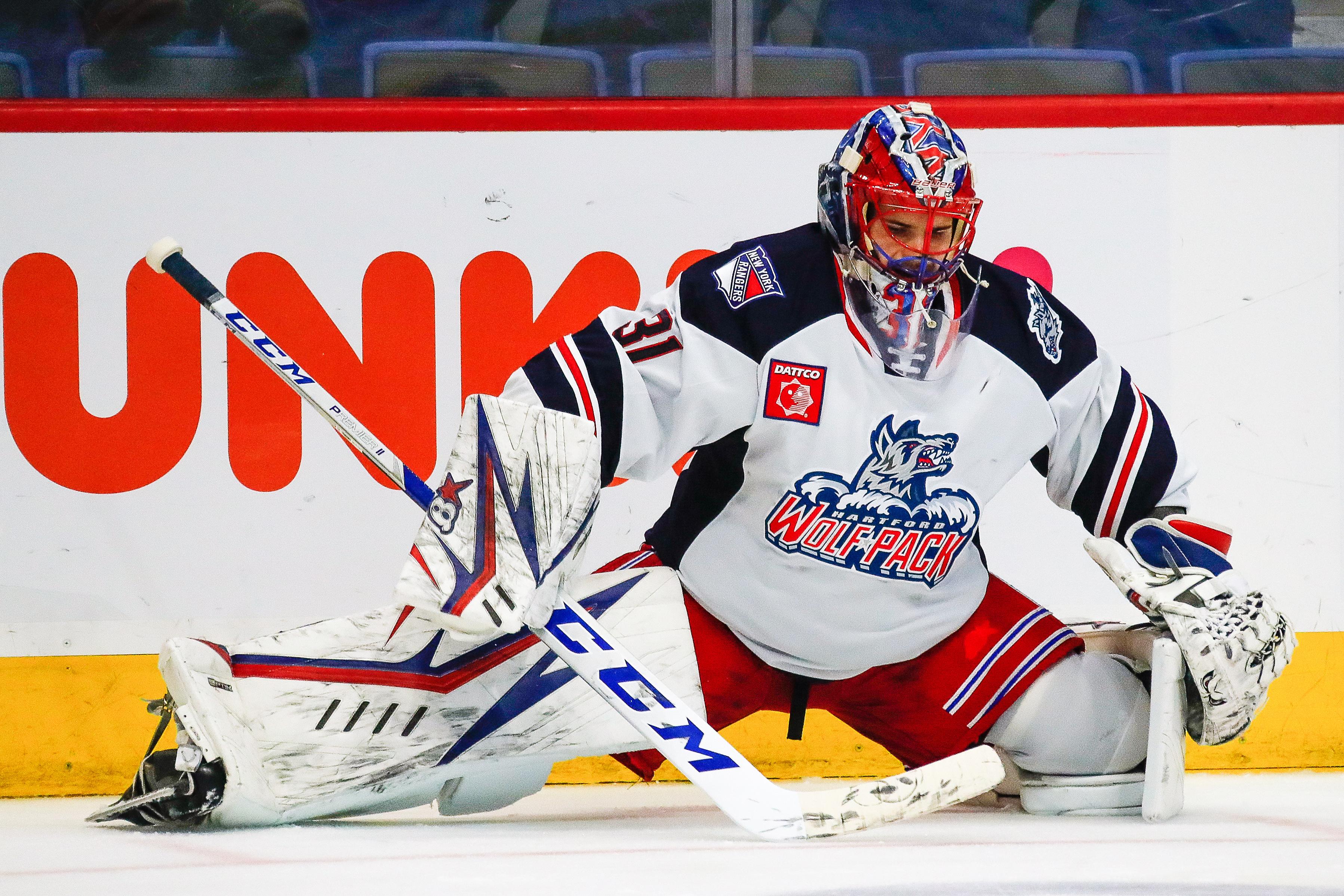 AHL: OCT 18 Springfield Thunderbirds at Hartford Wolf Pack