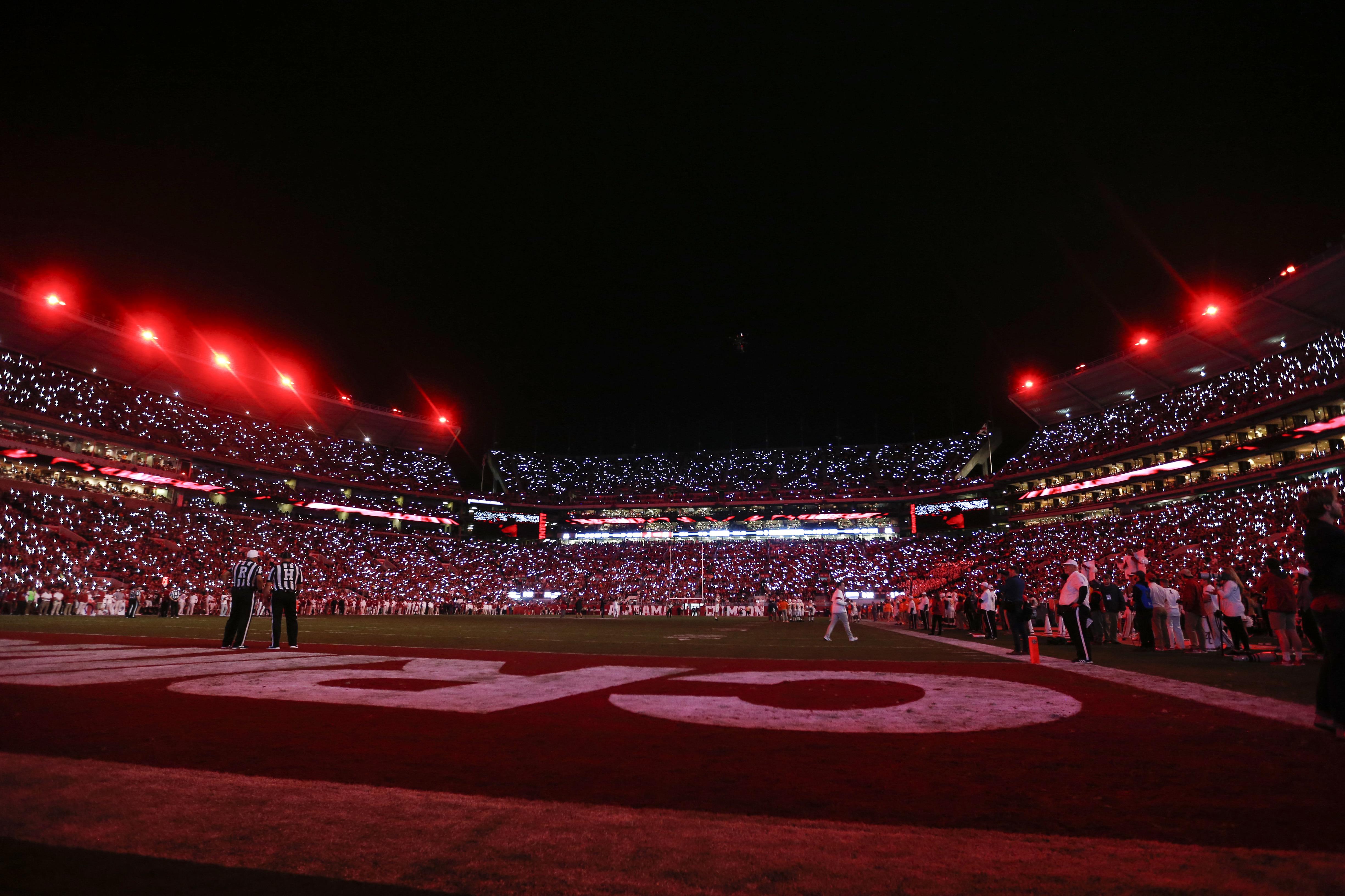 NCAA Football: Tennessee at Alabama