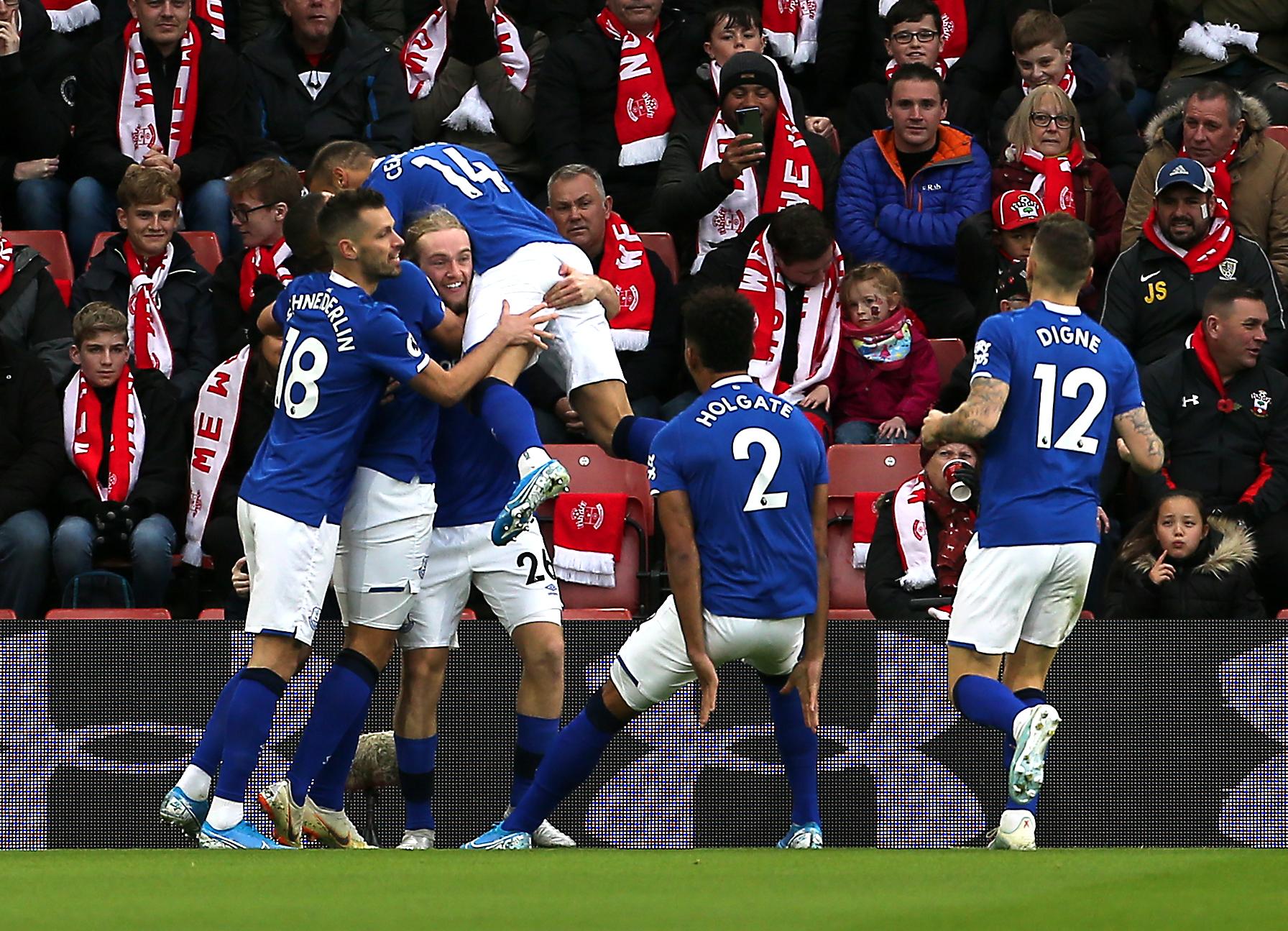 Southampton v Everton - Premier League - St Mary's Stadium