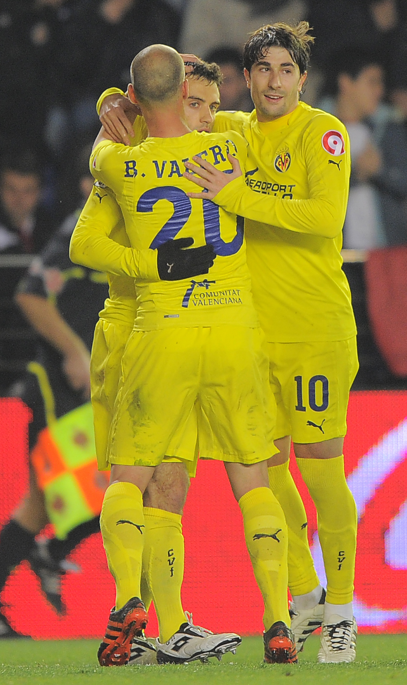 Villarreal's Italian forward Giuseppe Ro