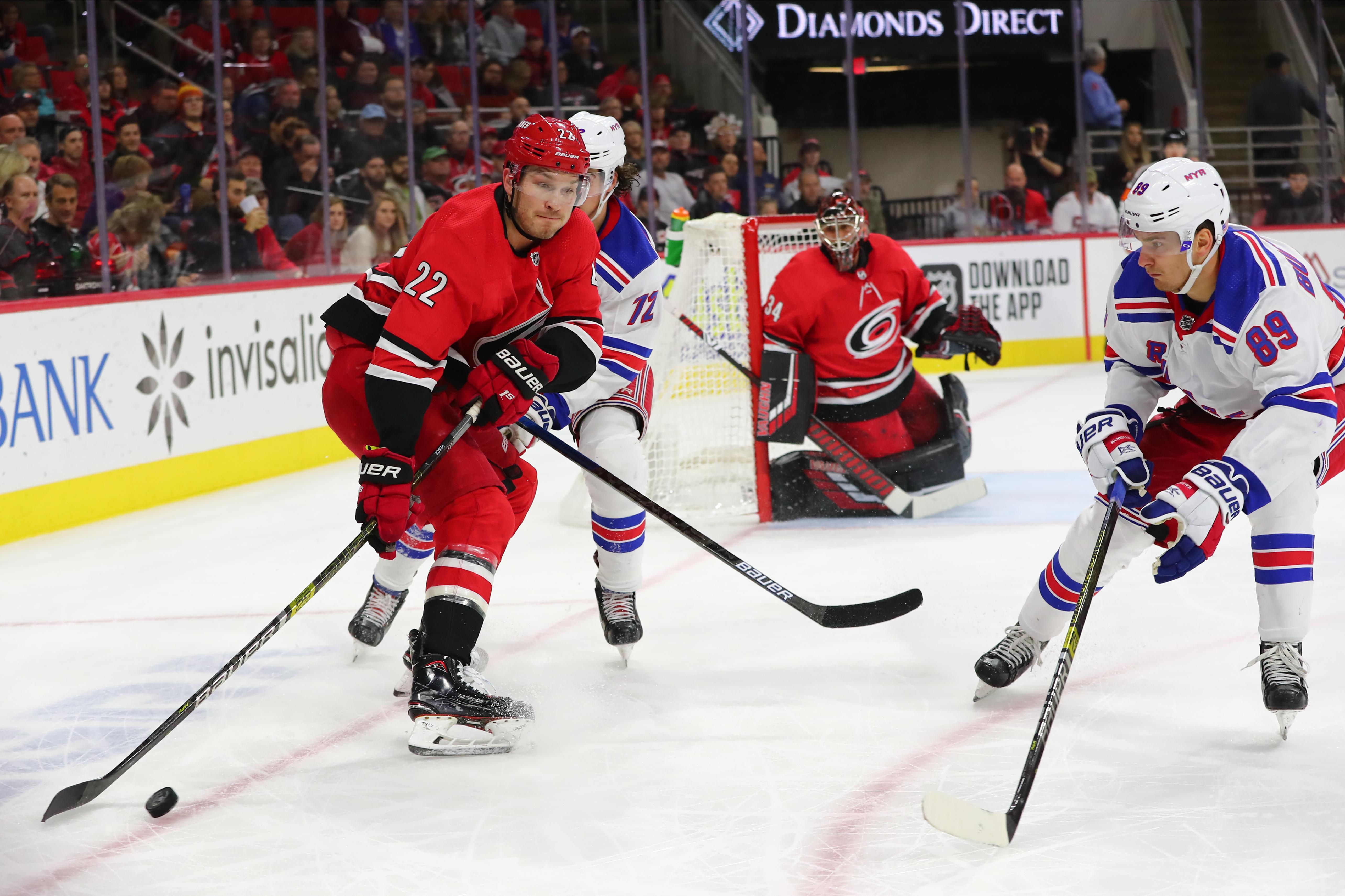 NHL: NOV 07 Rangers at Hurricanes