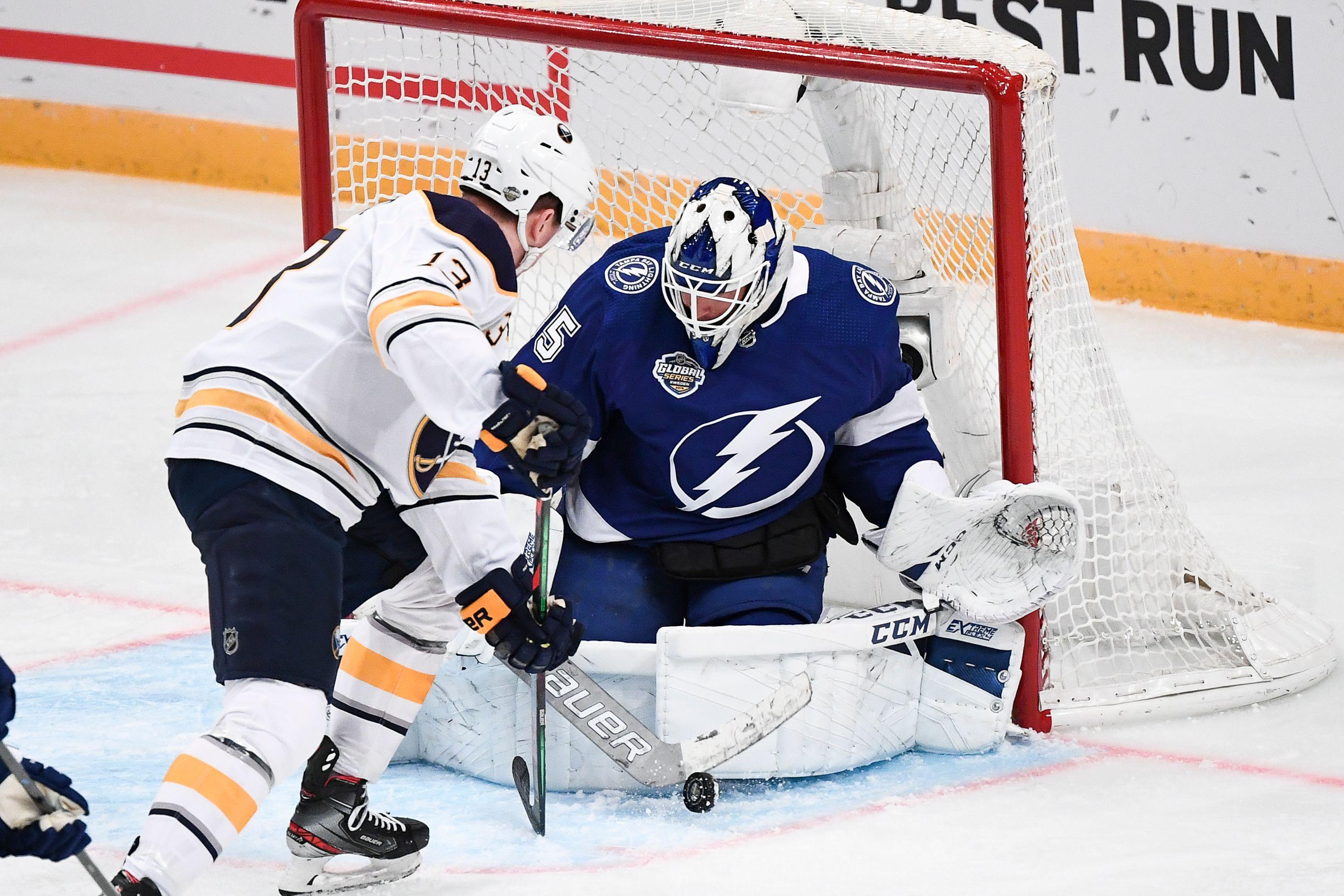IHOCKEY-NHL-TAMPA BAY LIGHTNING-BUFFALO SABRES
