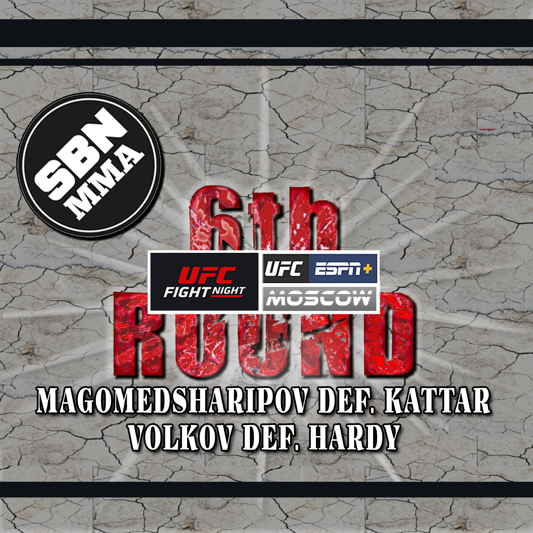 6th Rd, The 6th Round SBN MMA Post-Fight Show, UFC Moscow, UFC on ESPN+ 21, Magomedsharipov vs Kattar, UFC Results
