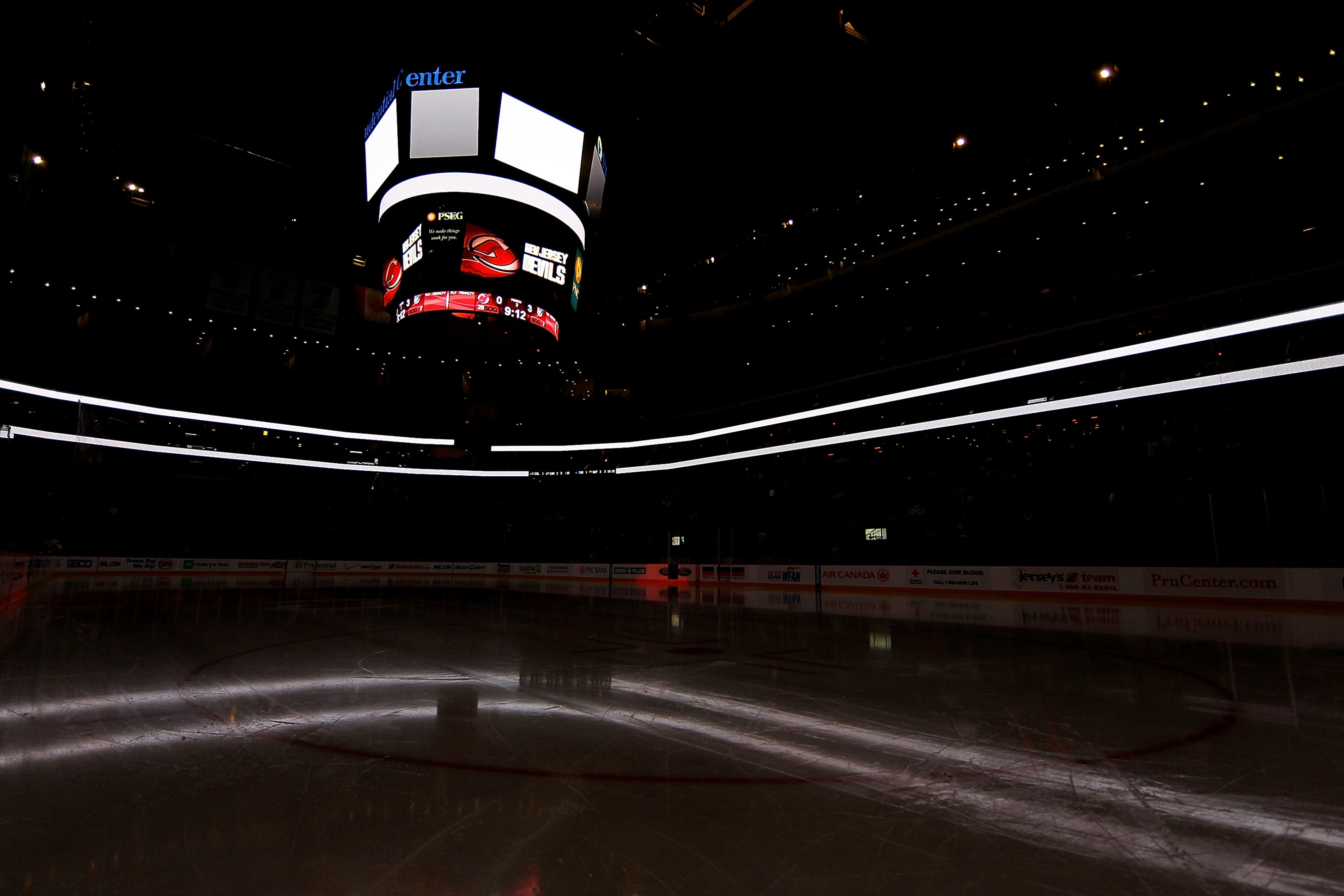 Soon, this rink will be lit up, active, and filled with people like you.  Of course, you'll need some tickets.