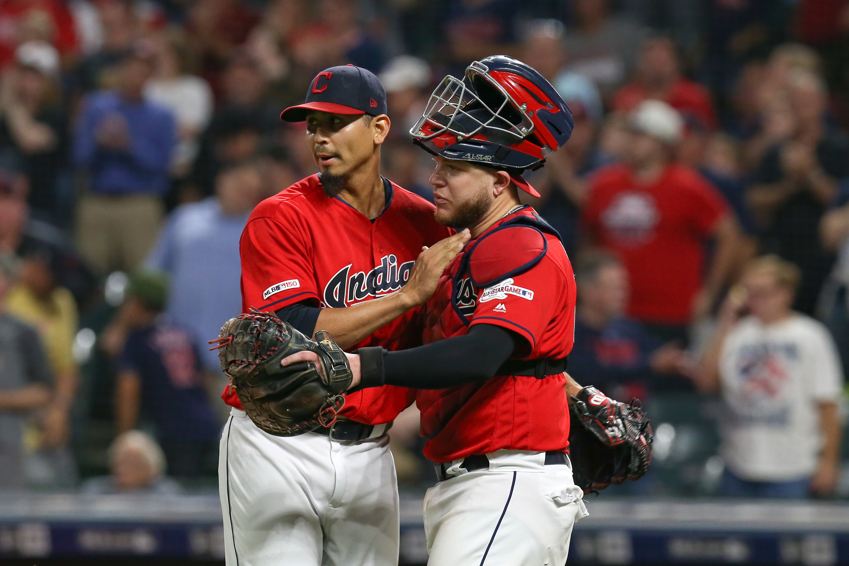 MLB: SEP 20 Phillies at Indians
