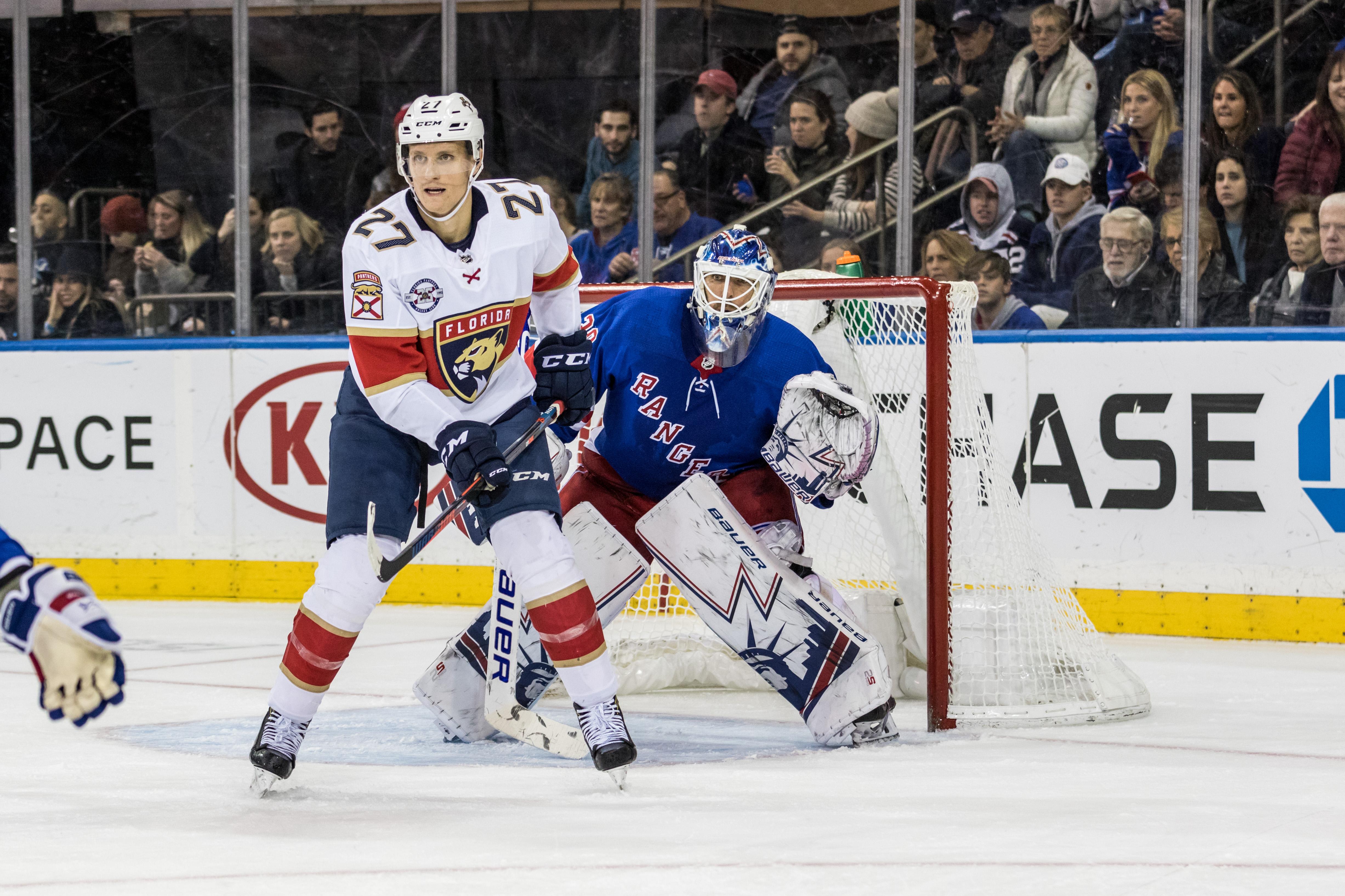 NHL: NOV 17 Panthers at Rangers