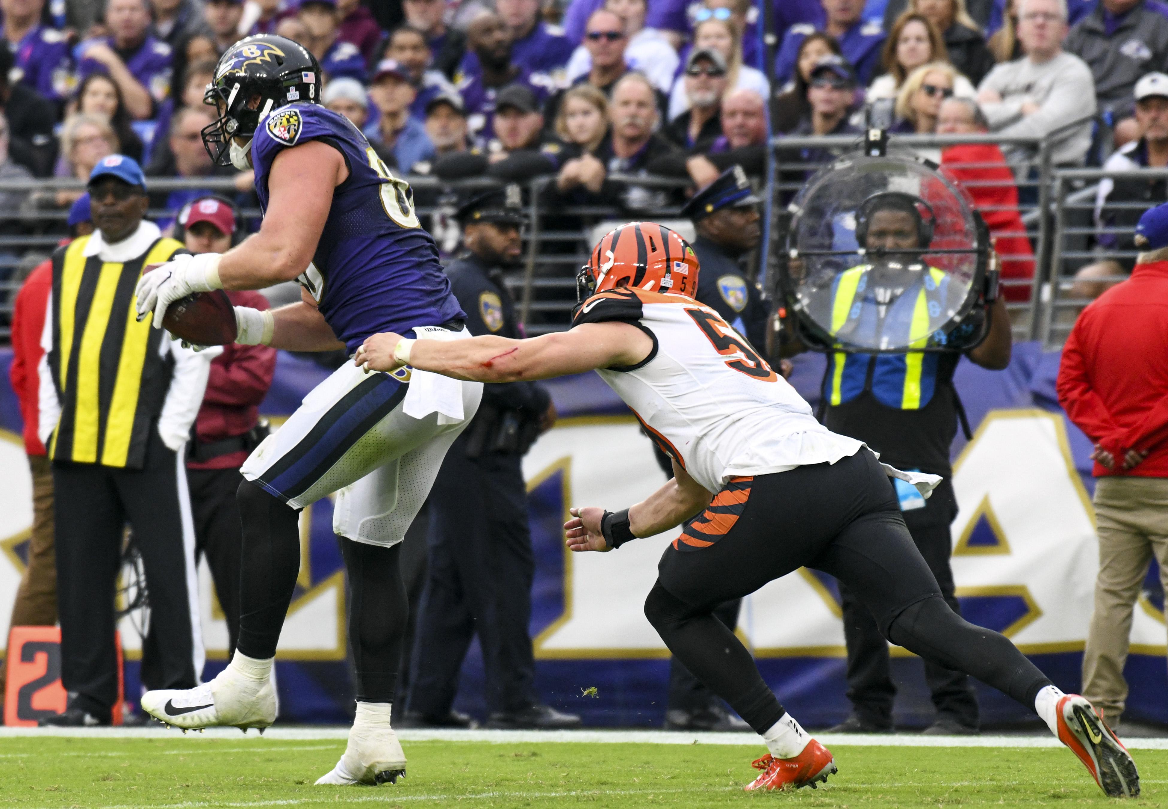 NFL: OCT 13 Bengals at Ravens