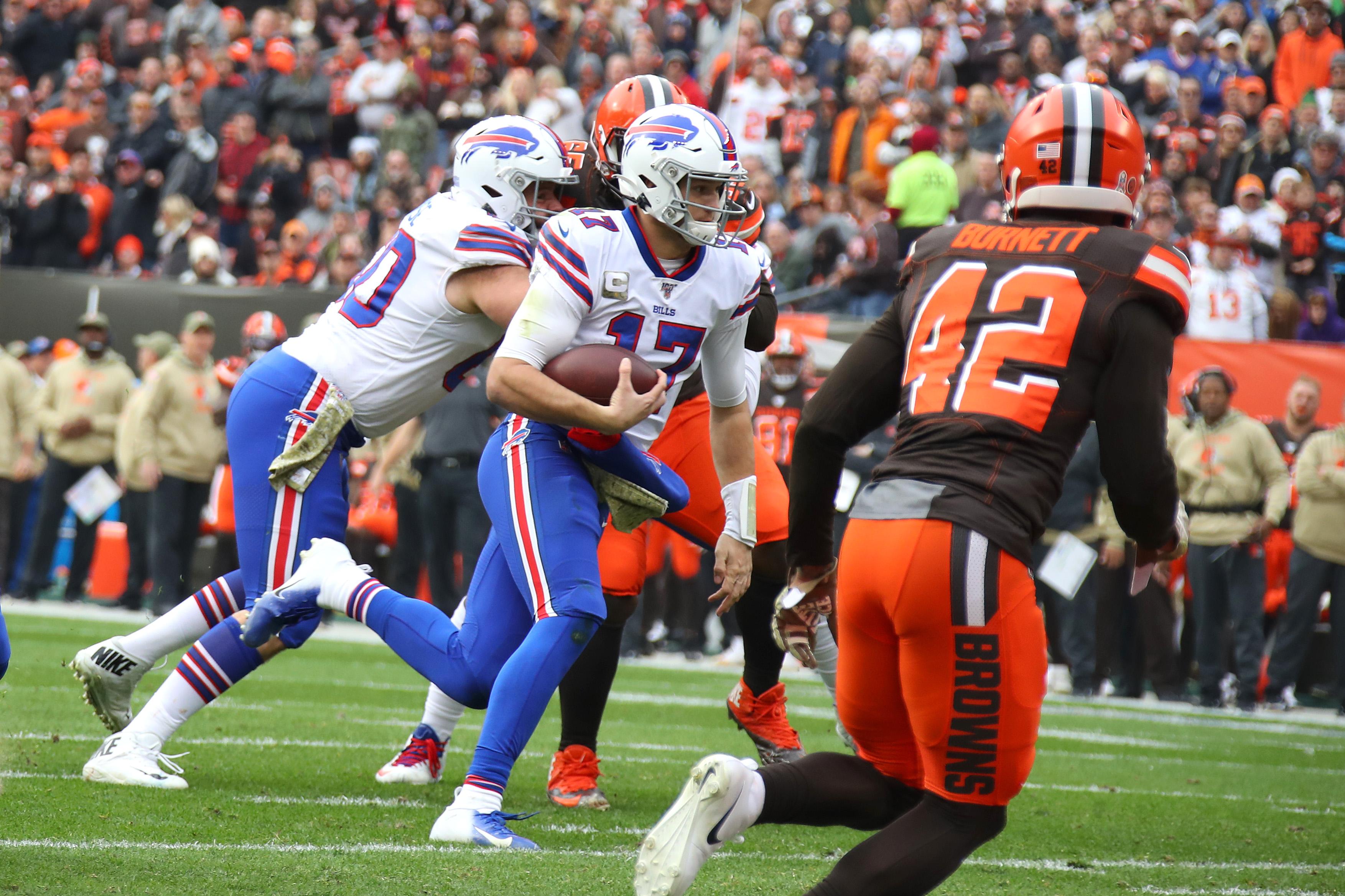 Buffalo Bills vCleveland Browns