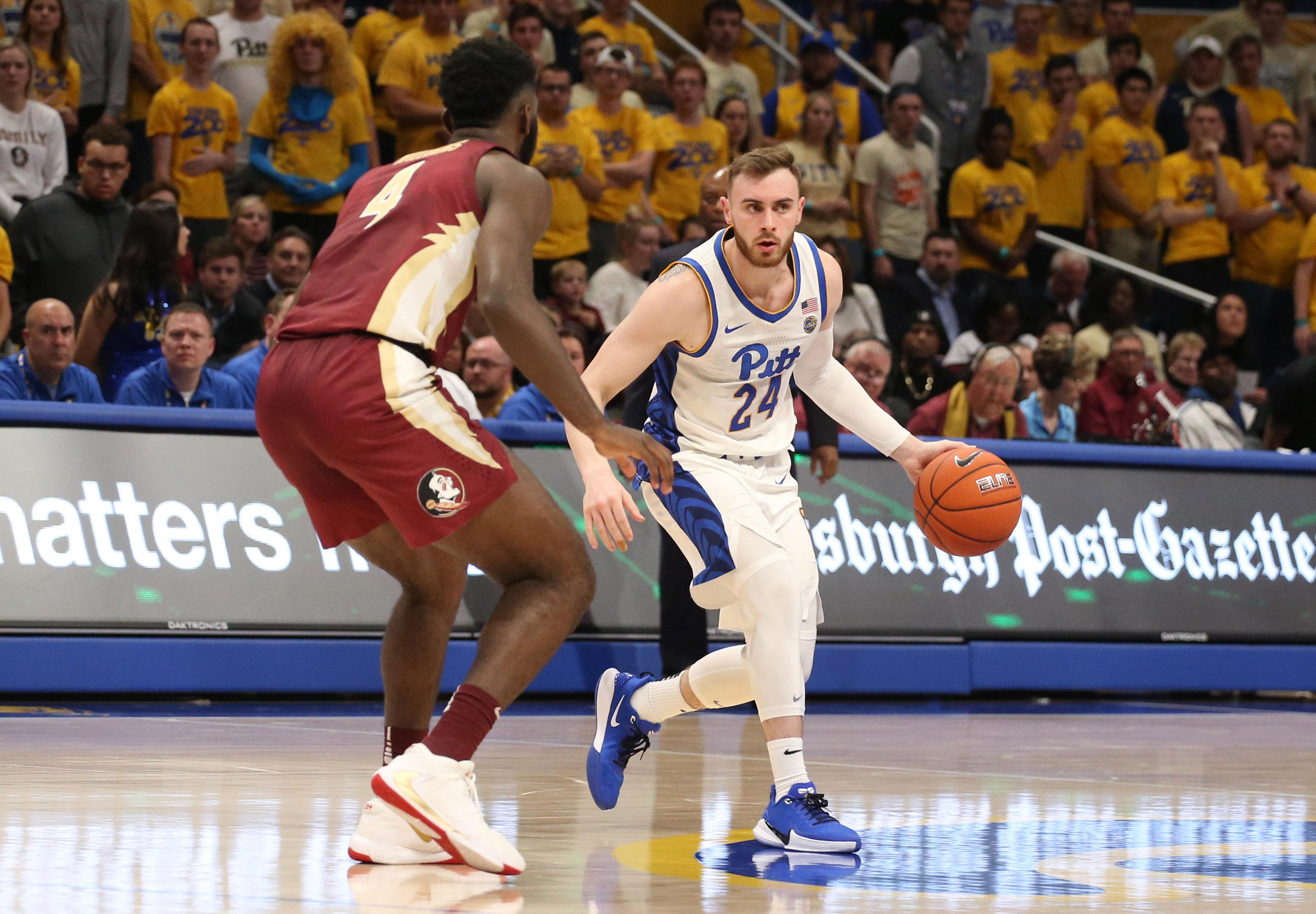 NCAA Basketball: Florida State at Pittsburgh
