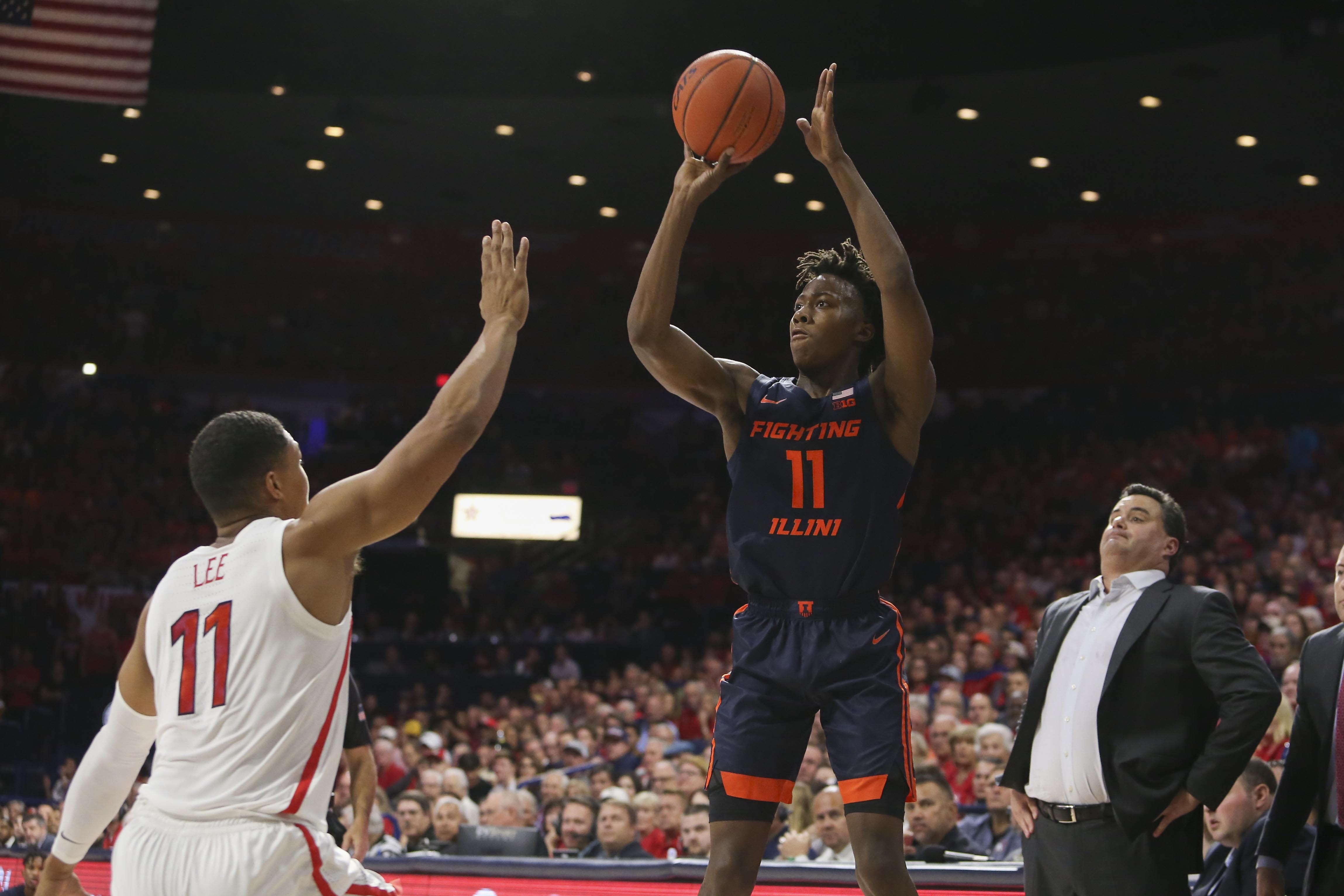 NCAA Basketball: Illinois at Arizona