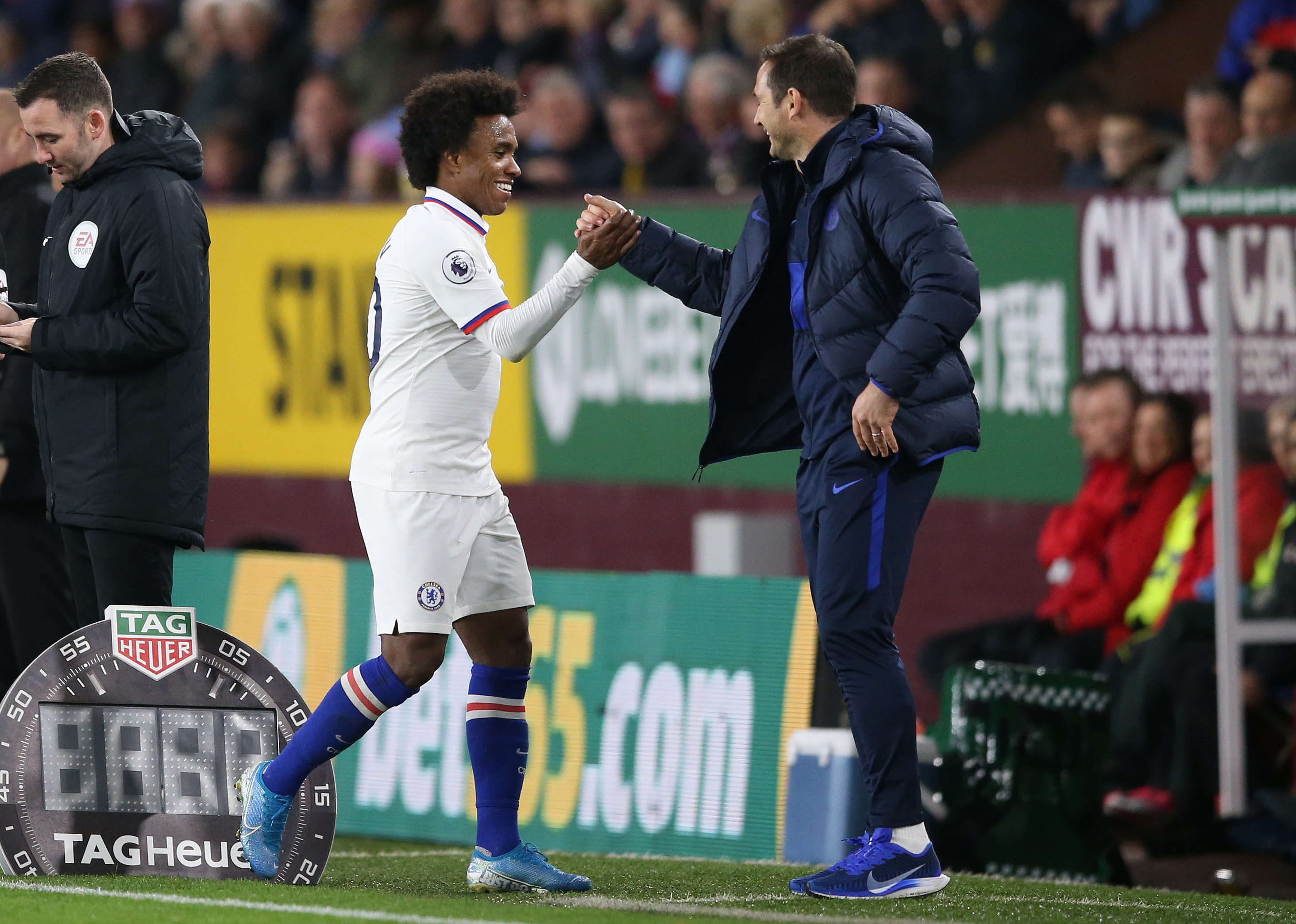 Lampard on why he 'loves' Willian at Chelsea