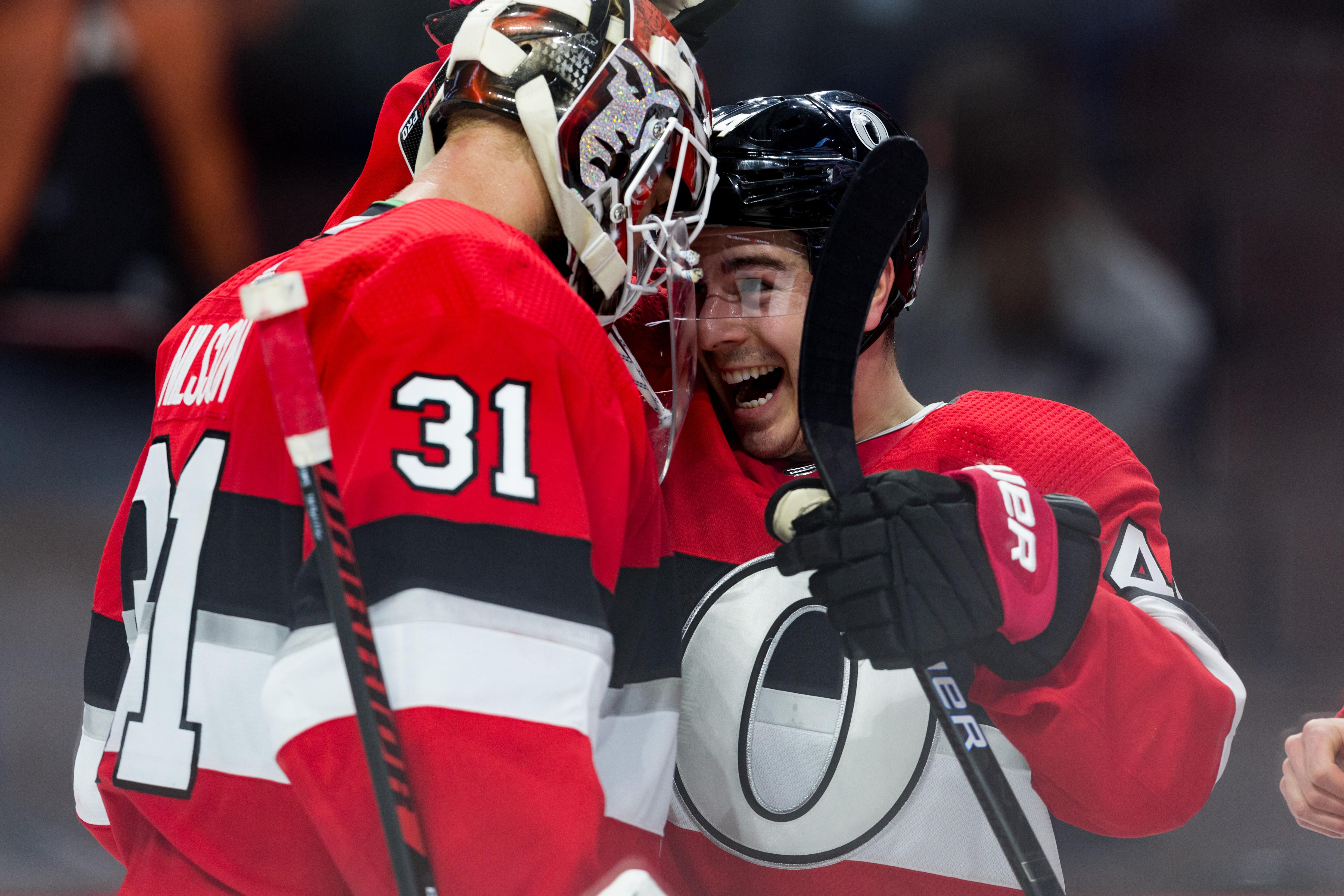 NHL: FEB 07 Ducks at Senators
