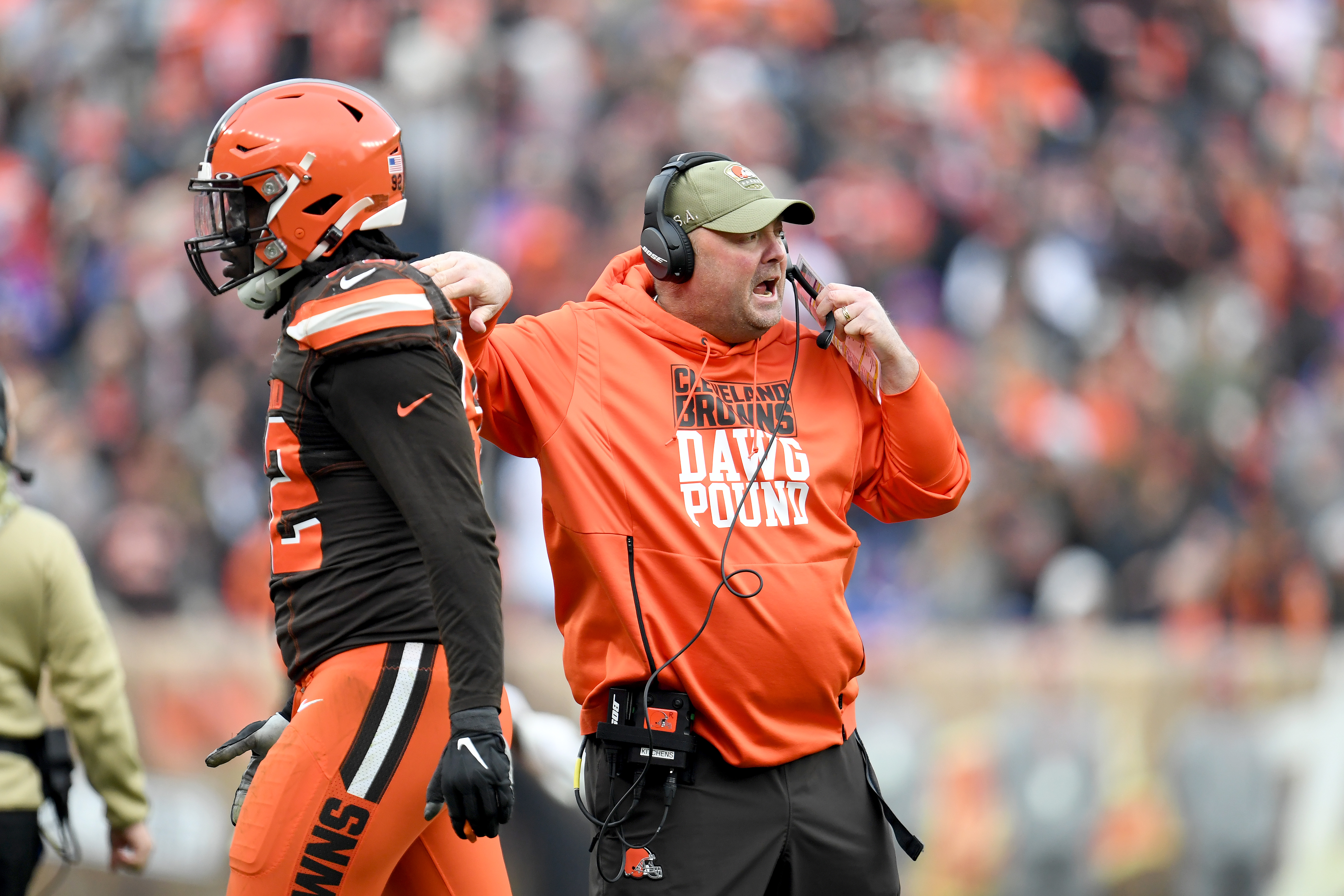Freddie Kitchens is the Michael Scott of the NFL