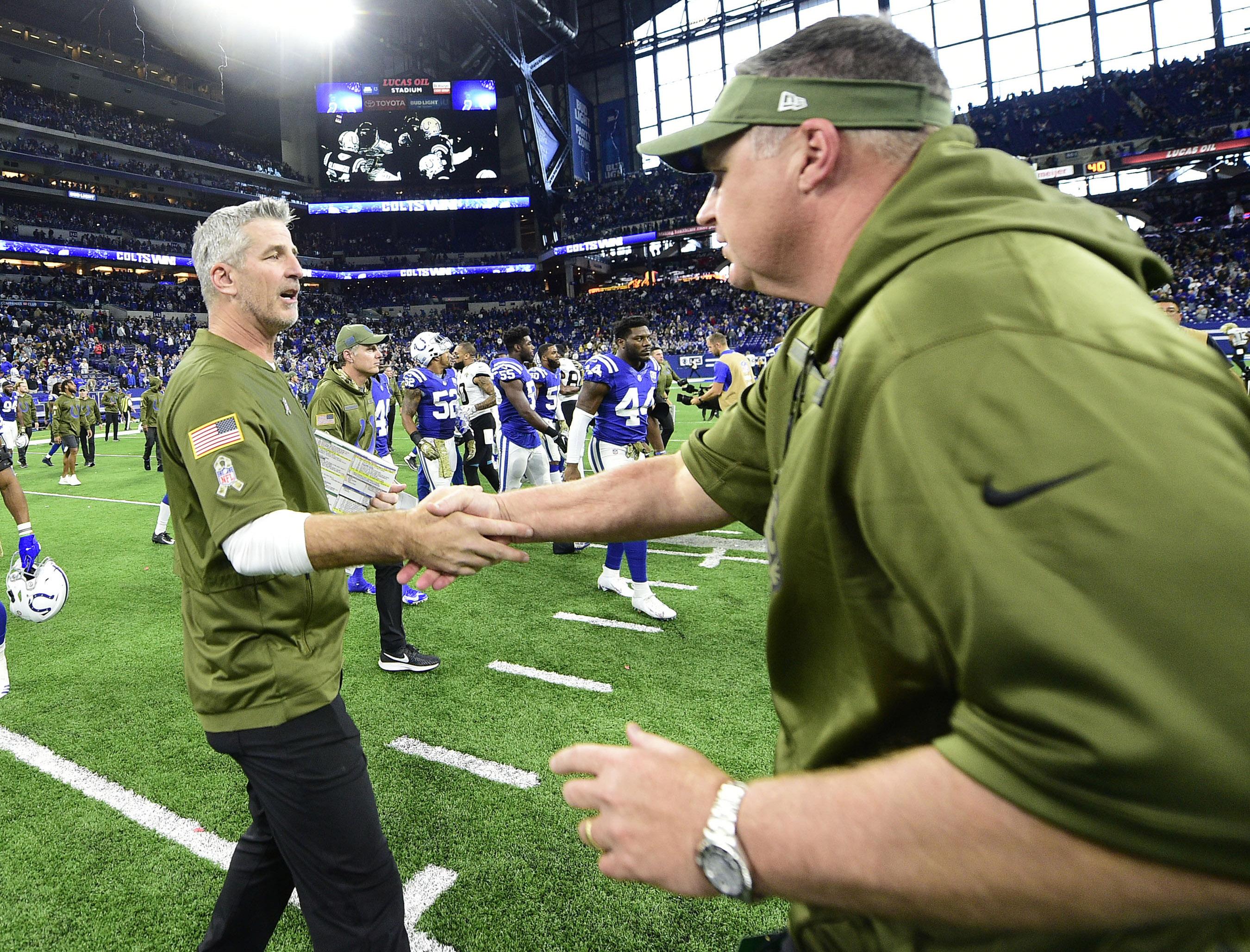 NFL: Jacksonville Jaguars at Indianapolis Colts