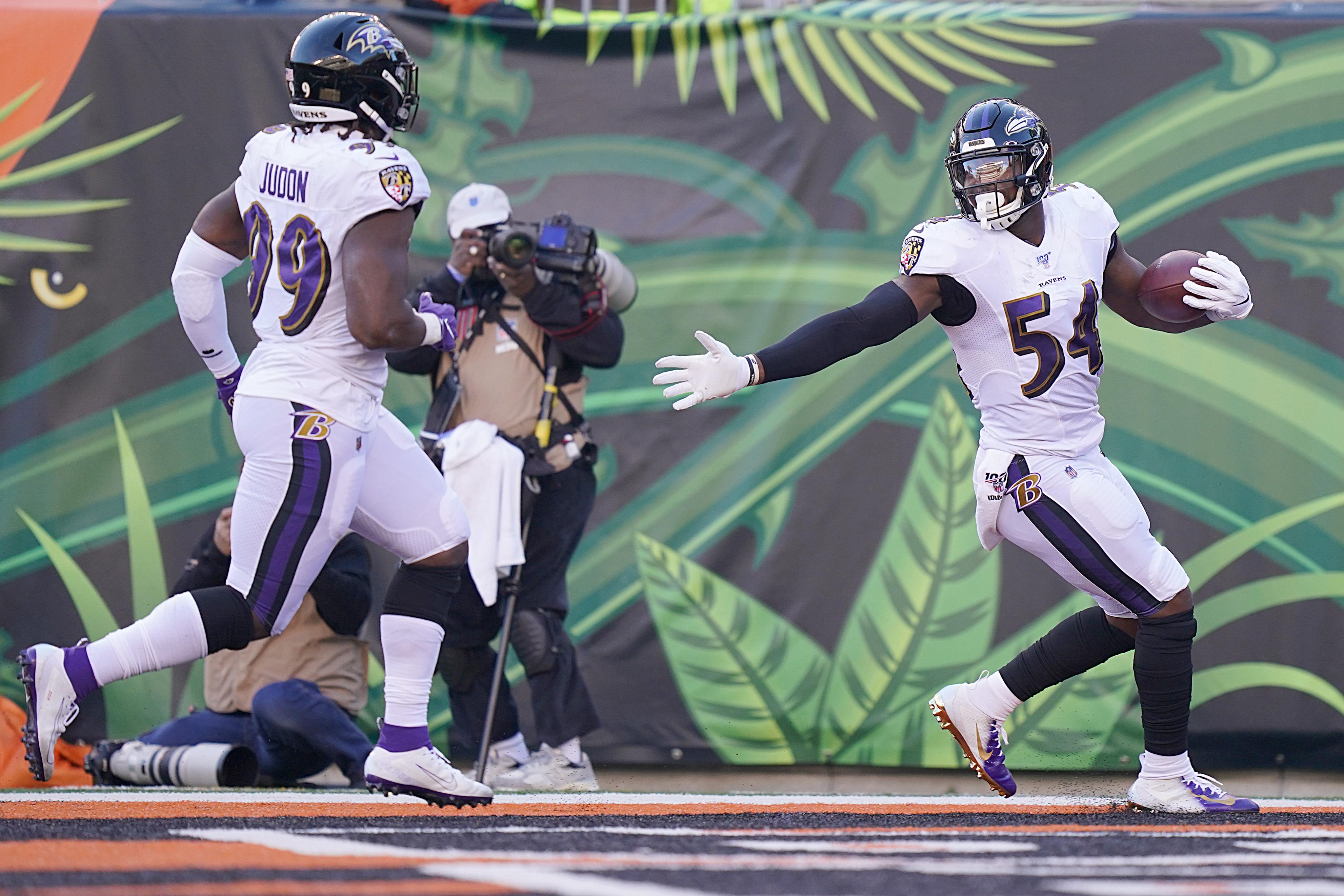 Baltimore Ravens vCincinnati Bengals
