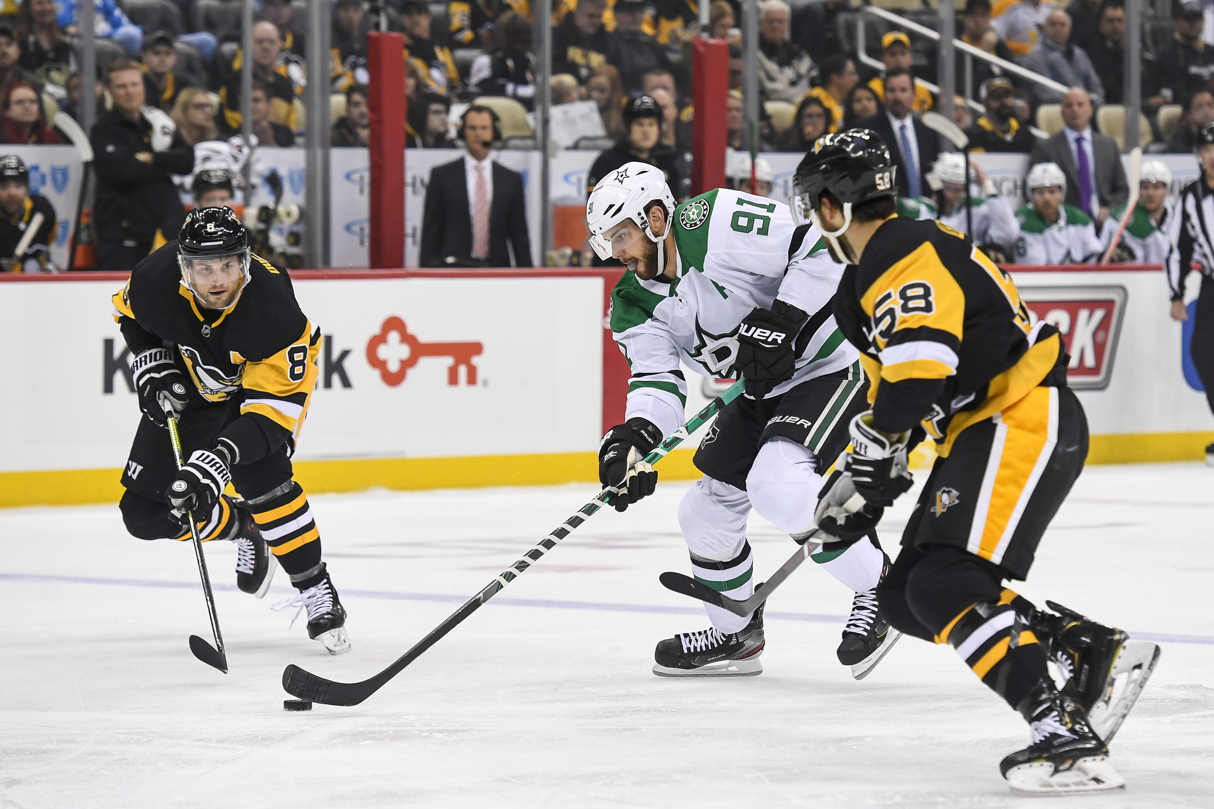 NHL: OCT 18 Stars at Penguins
