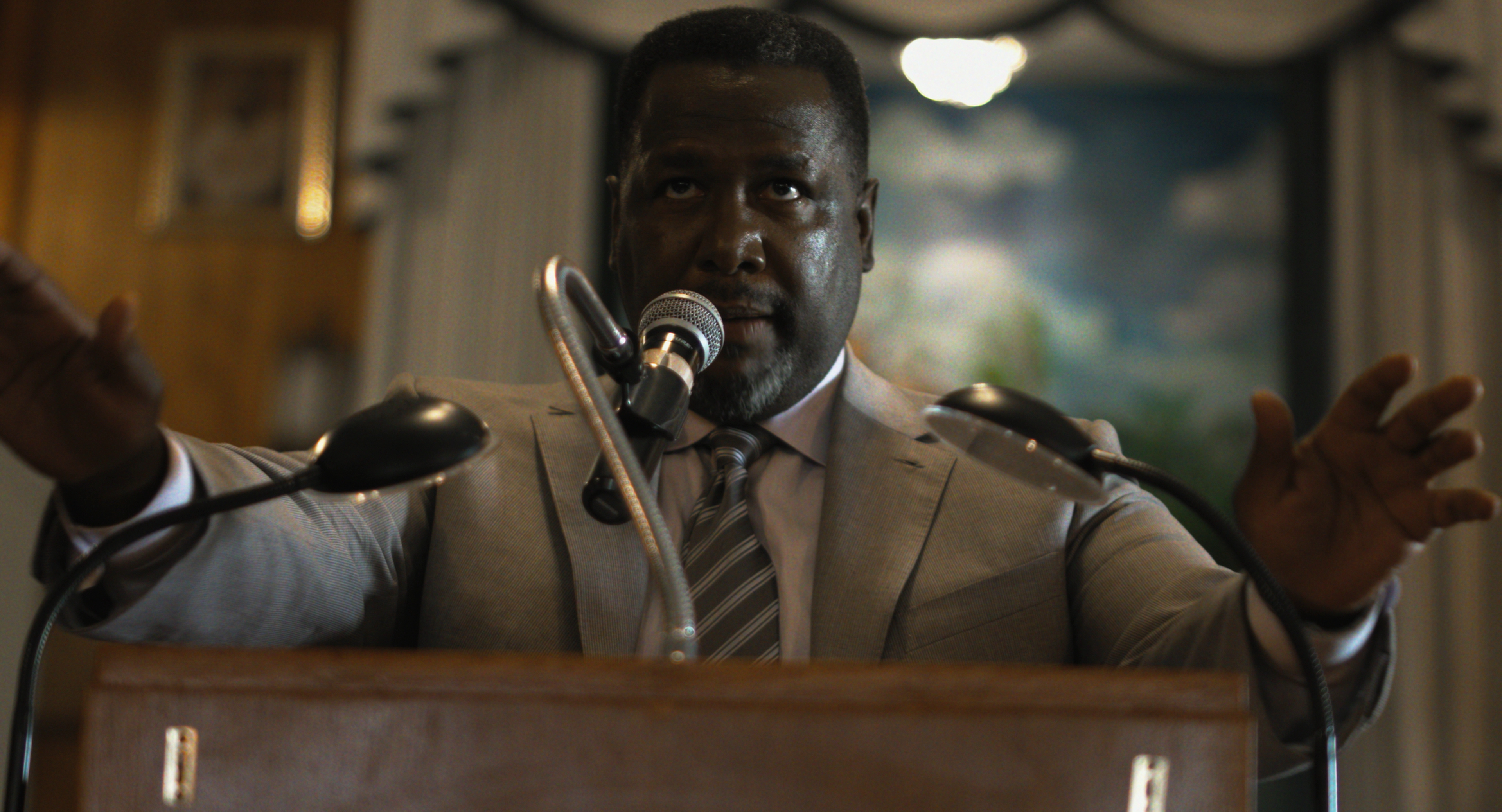Wendell Pierce in Burning Cane.