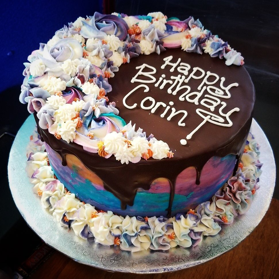 Corin Tucker's birthday cake from Paper Route