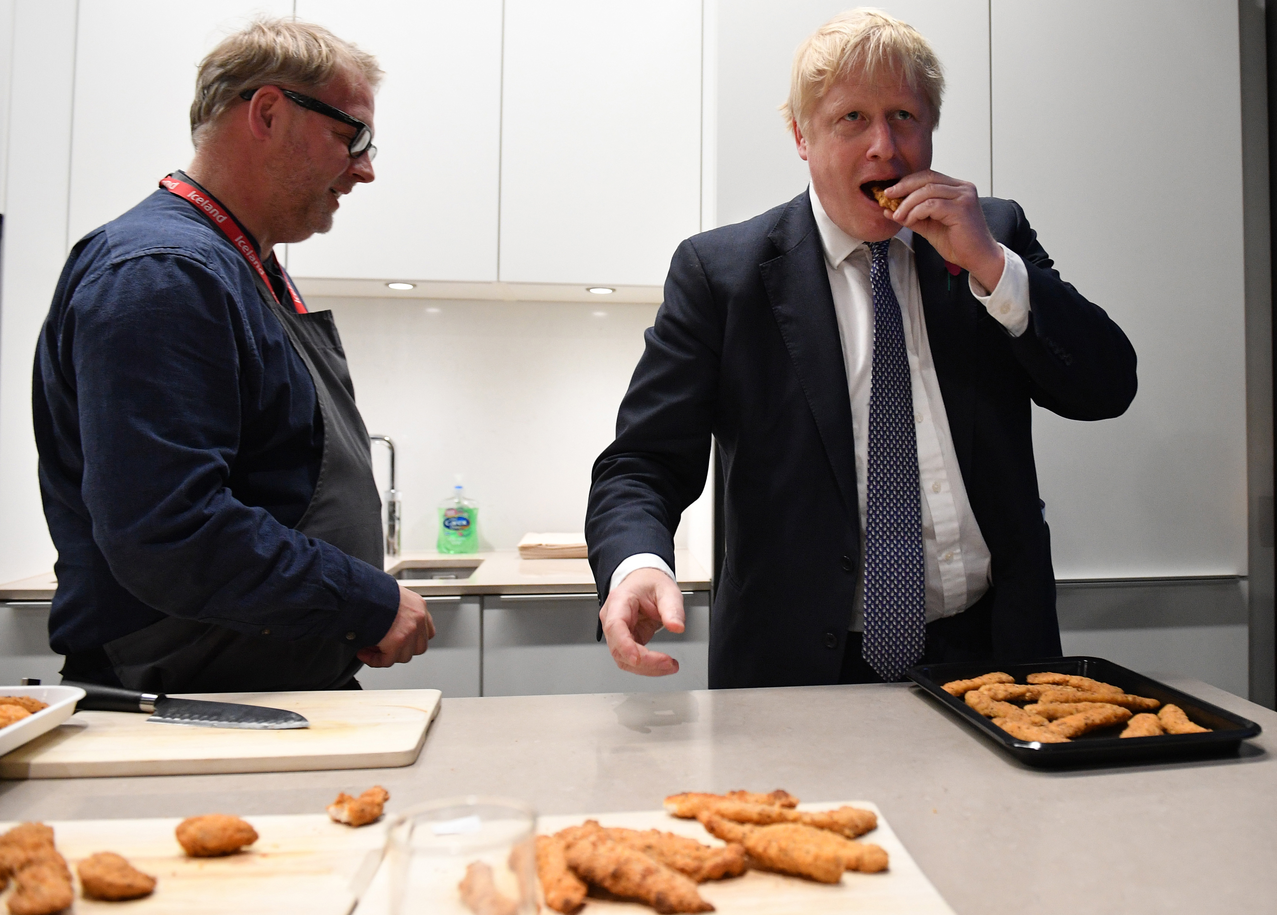 Boris Johnson's Voyage of Culinary Discovery Arrives at Iceland, the Supermarket