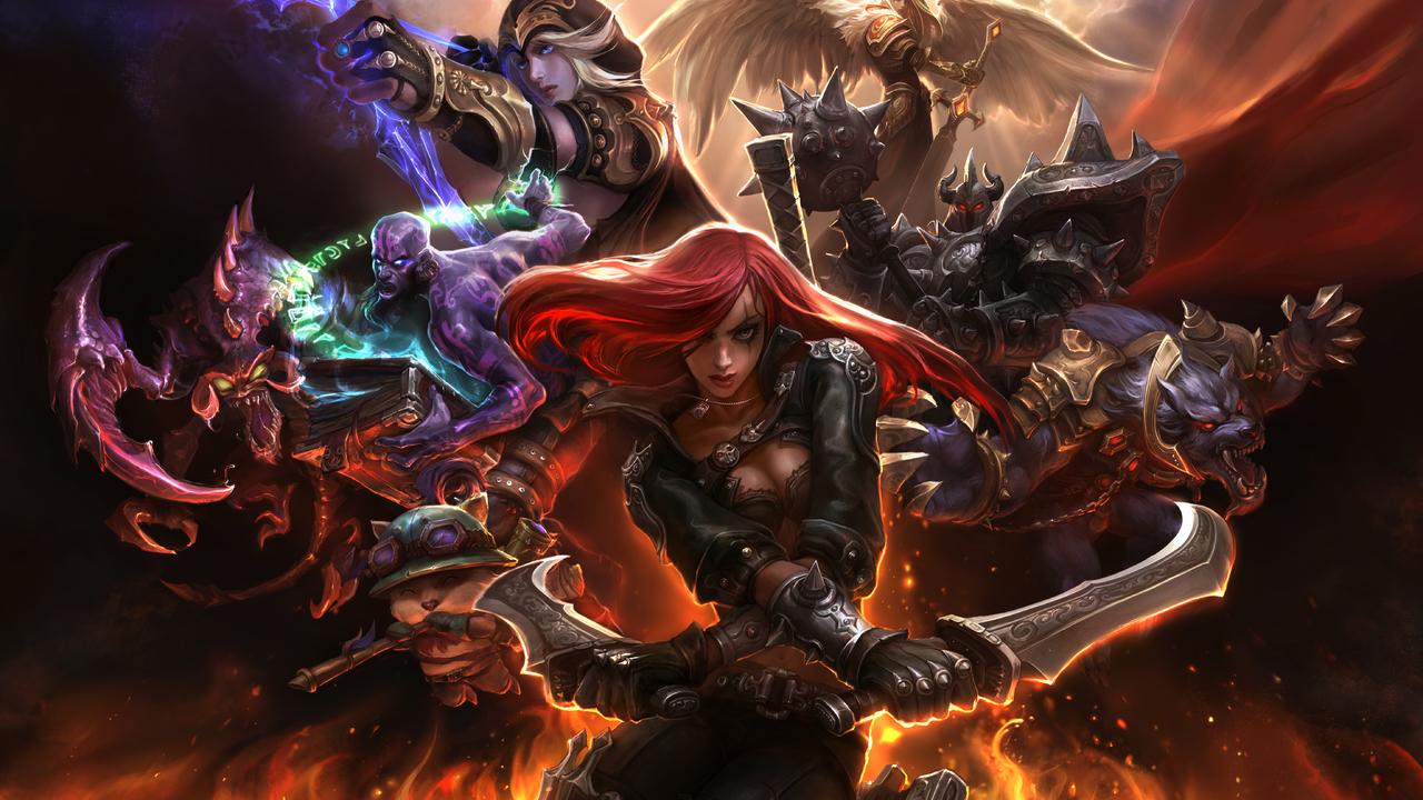 League of Legends - Dominion key art