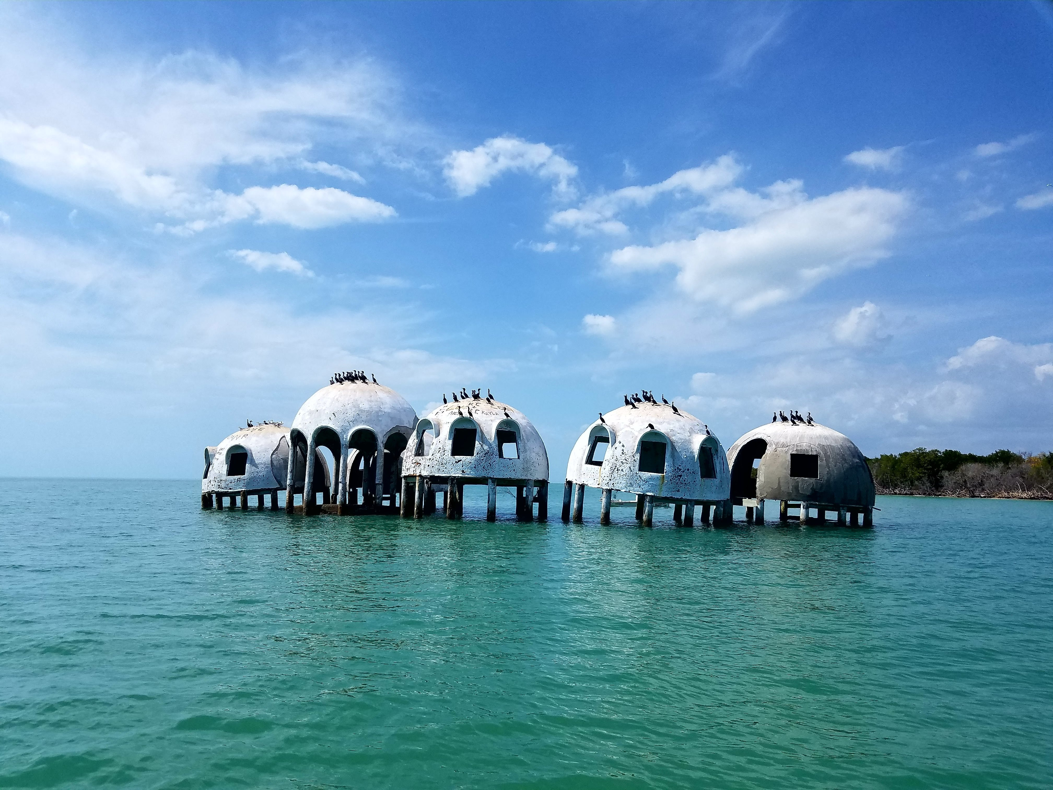 Disappearing dome homes are casualty of eroding beaches