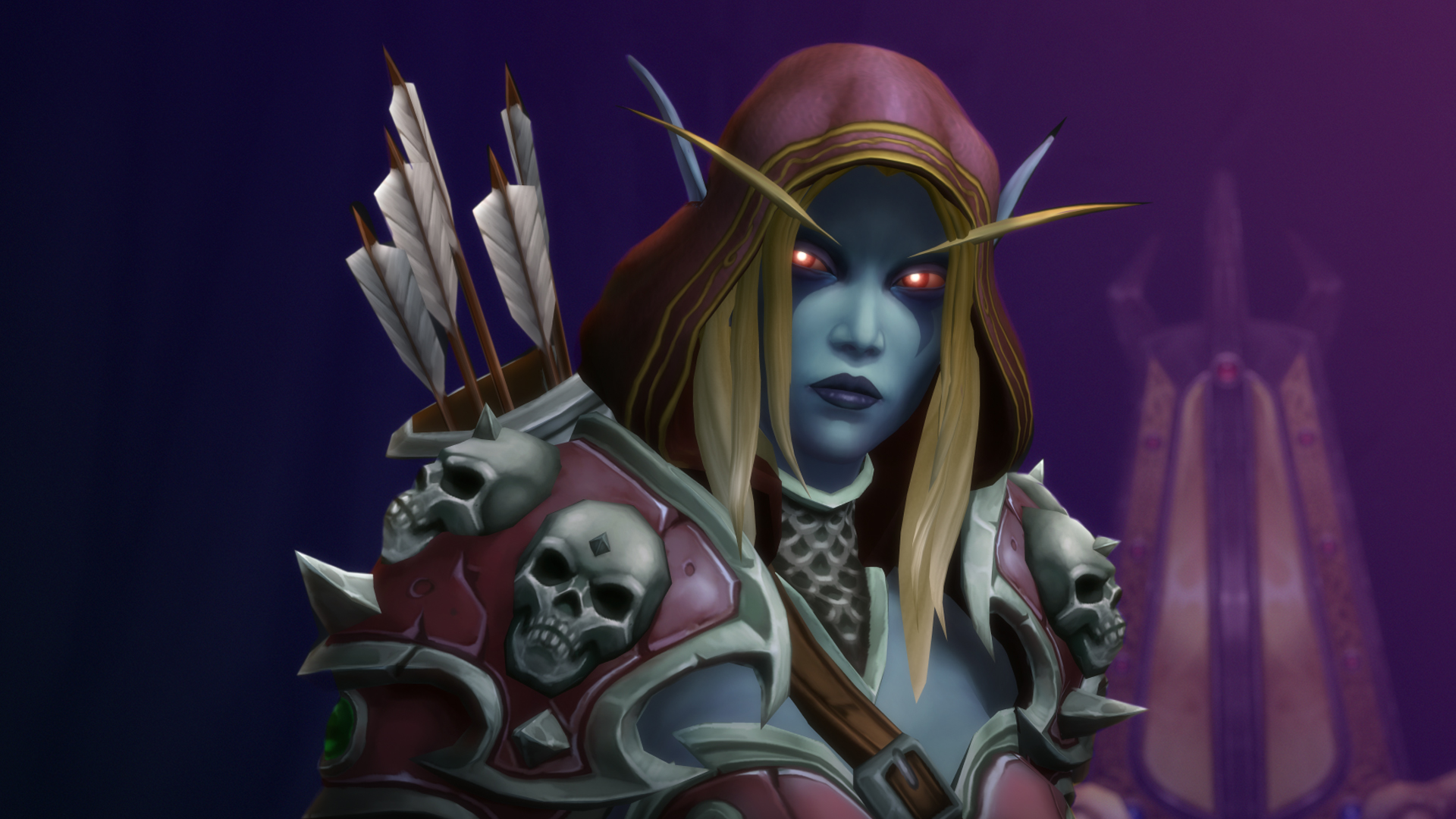 Character from the World of Warcraft game