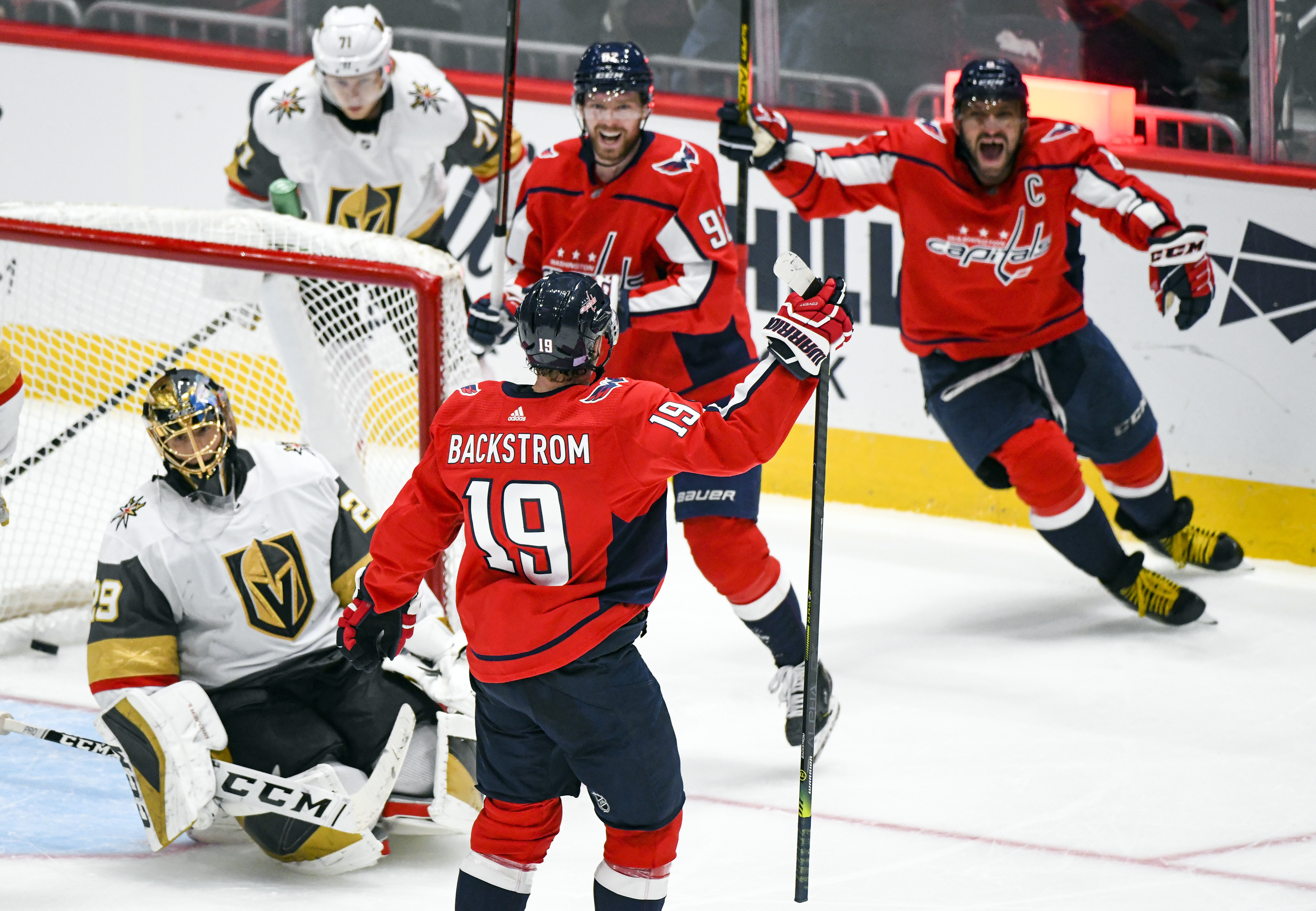 NHL: NOV 09 Golden Knights at Capitals