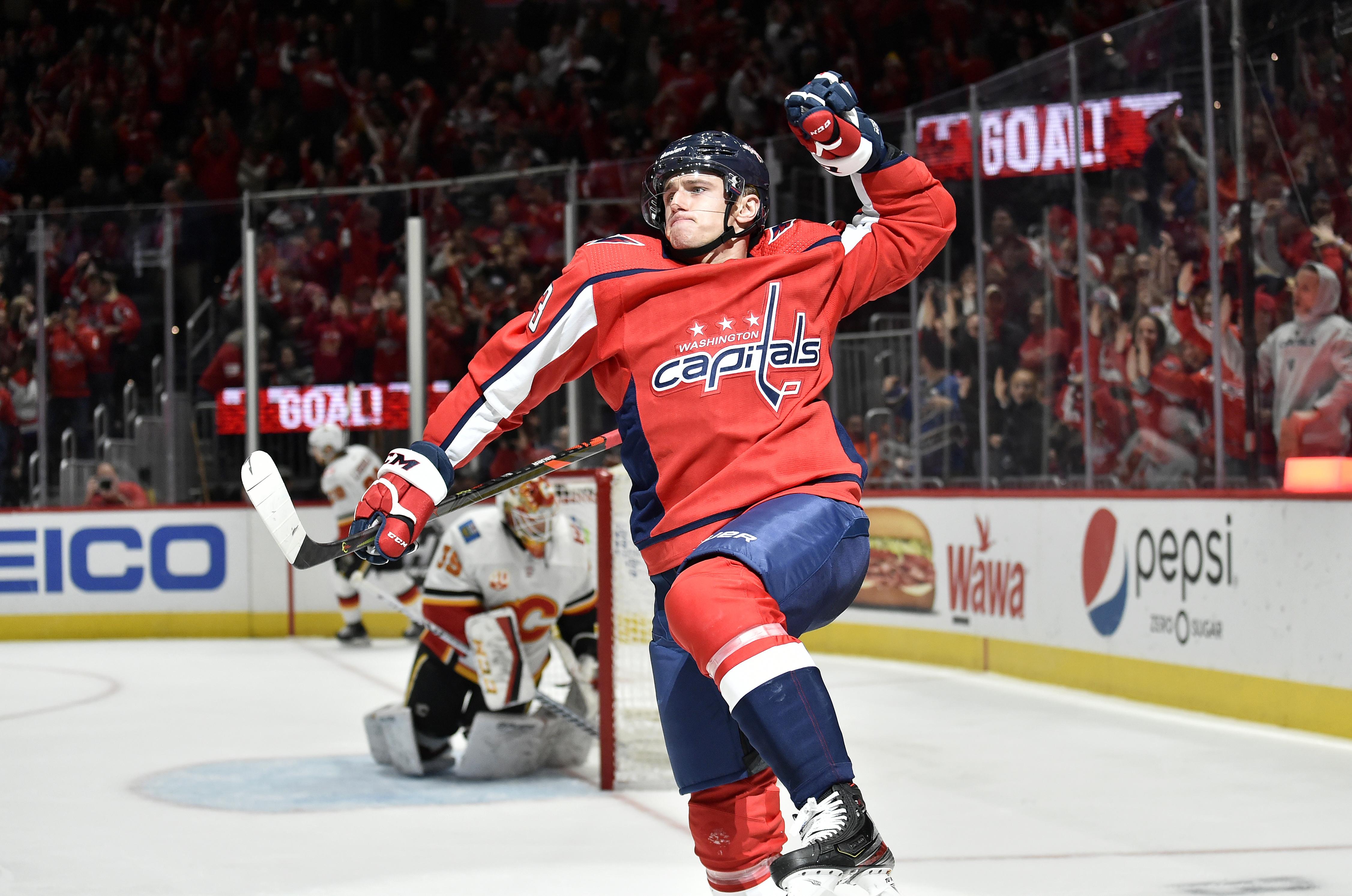 NHL: NOV 03 Flames at Capitals