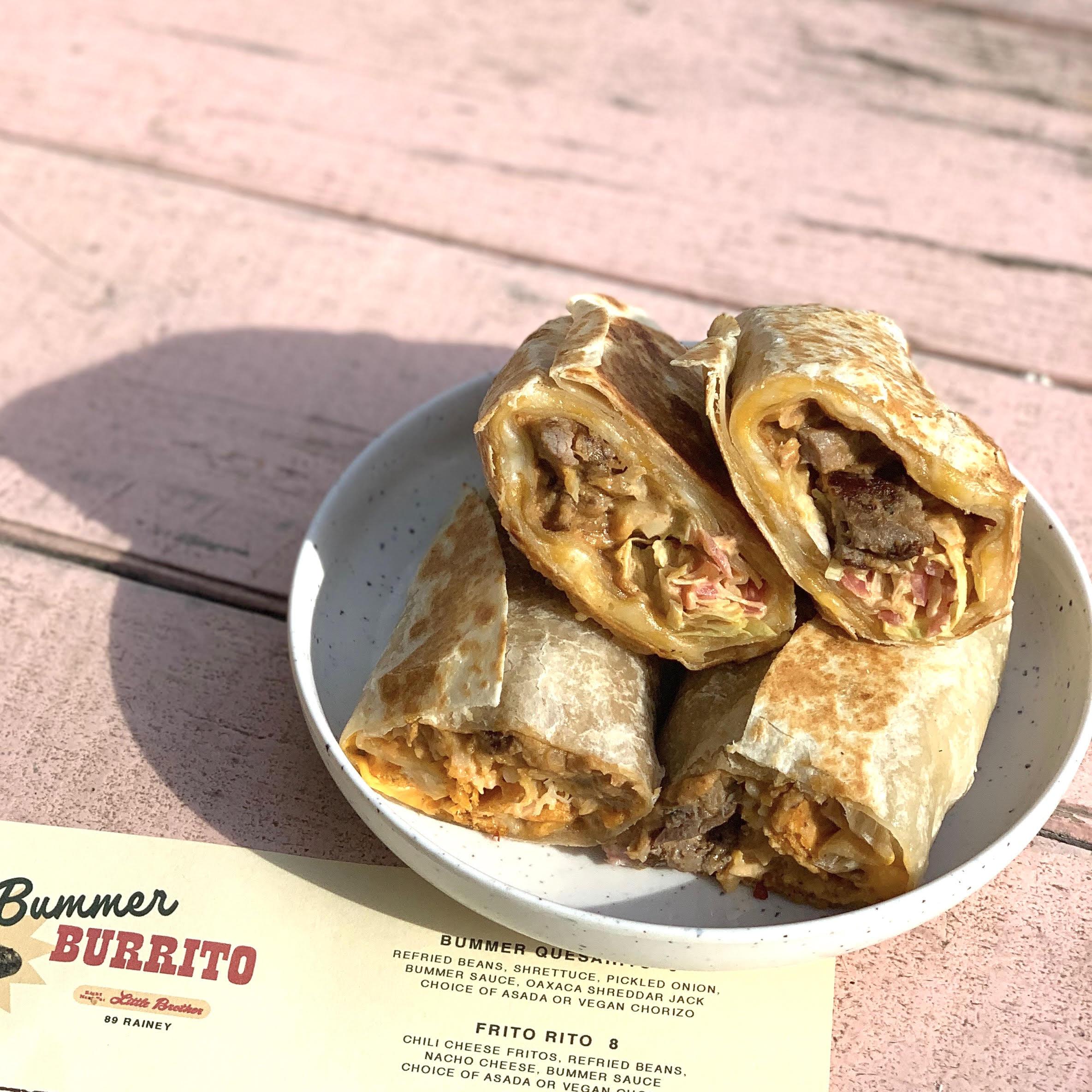 Burritos from Bummer Burrito