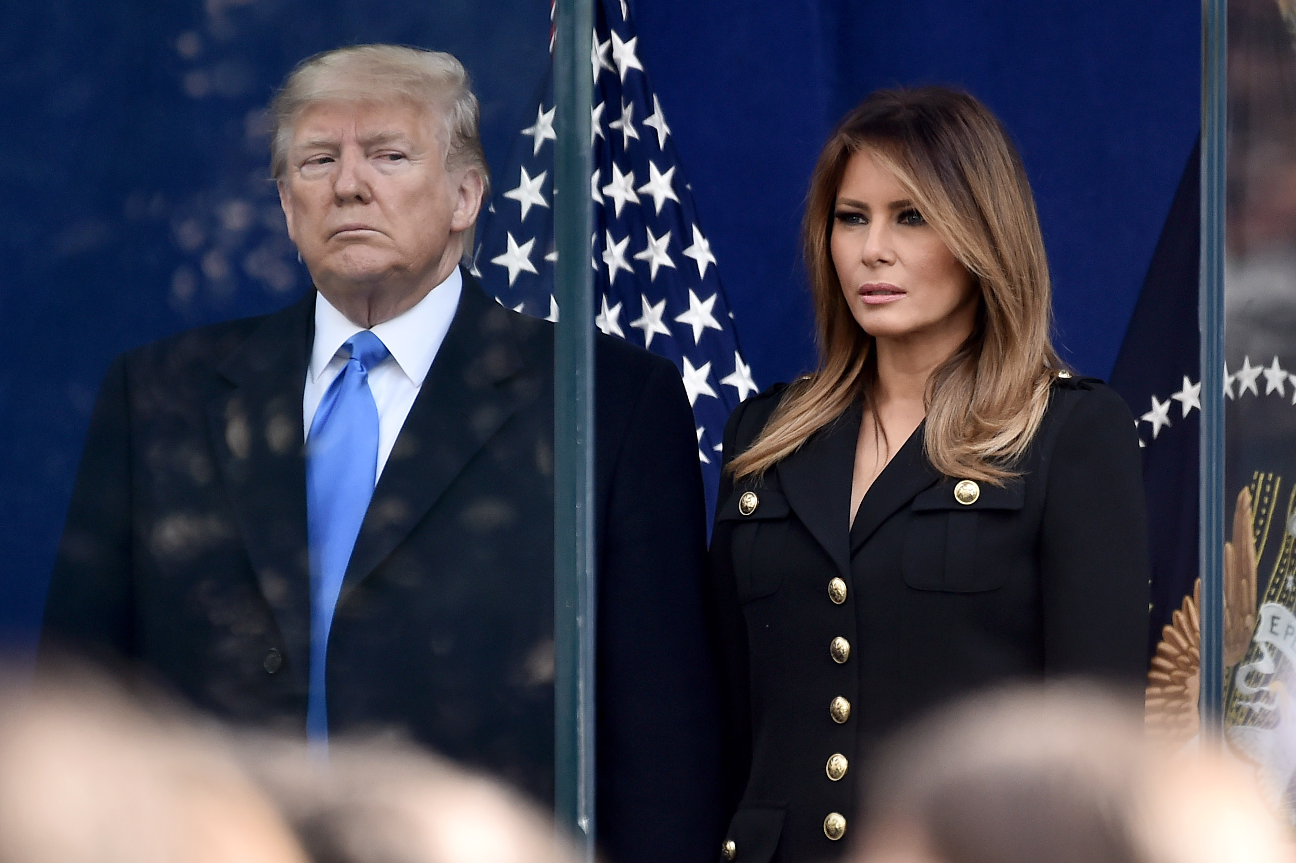 President Donald Trump and First Lady Melania Trump.