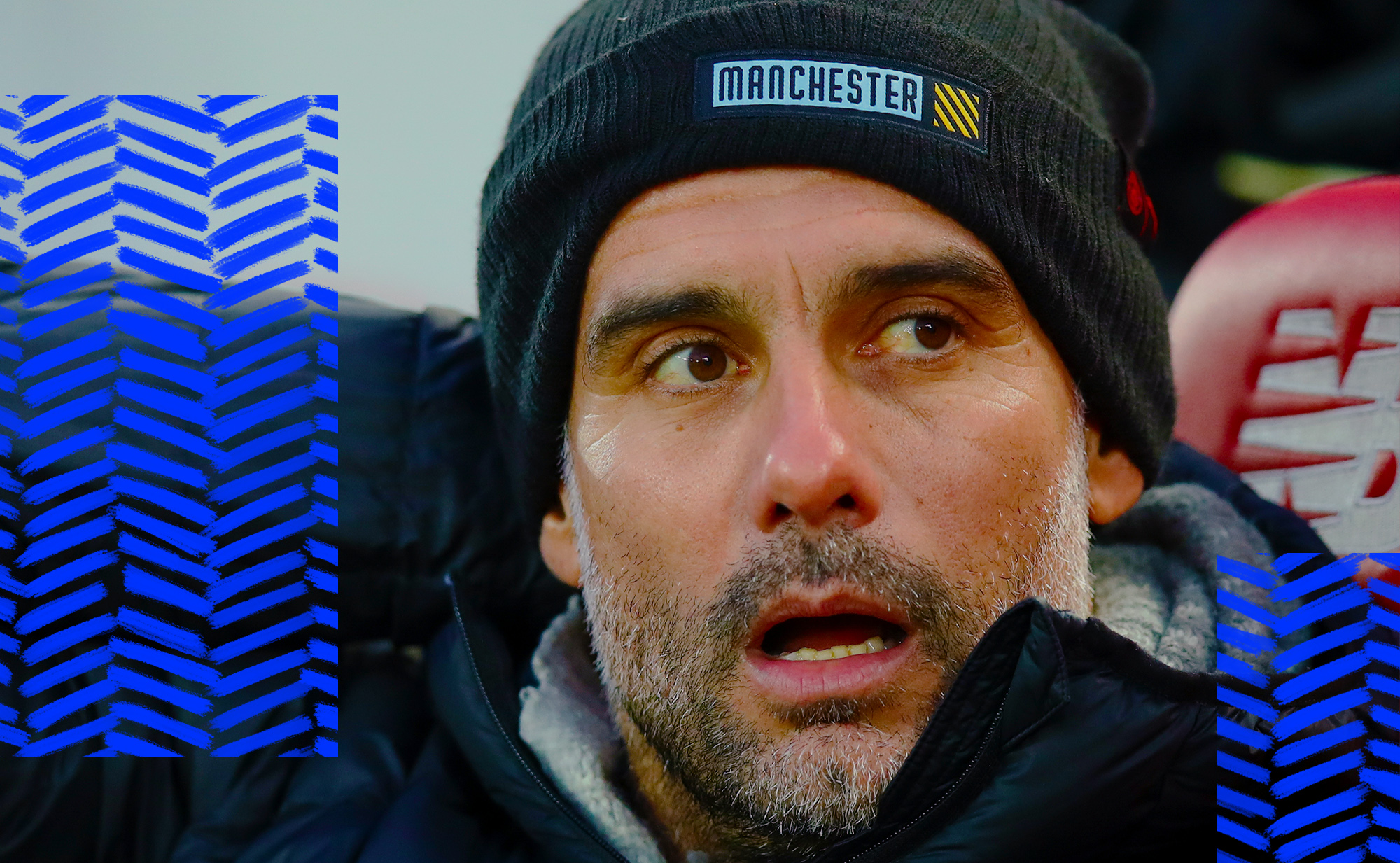 Pep Guardiola screamed into a void