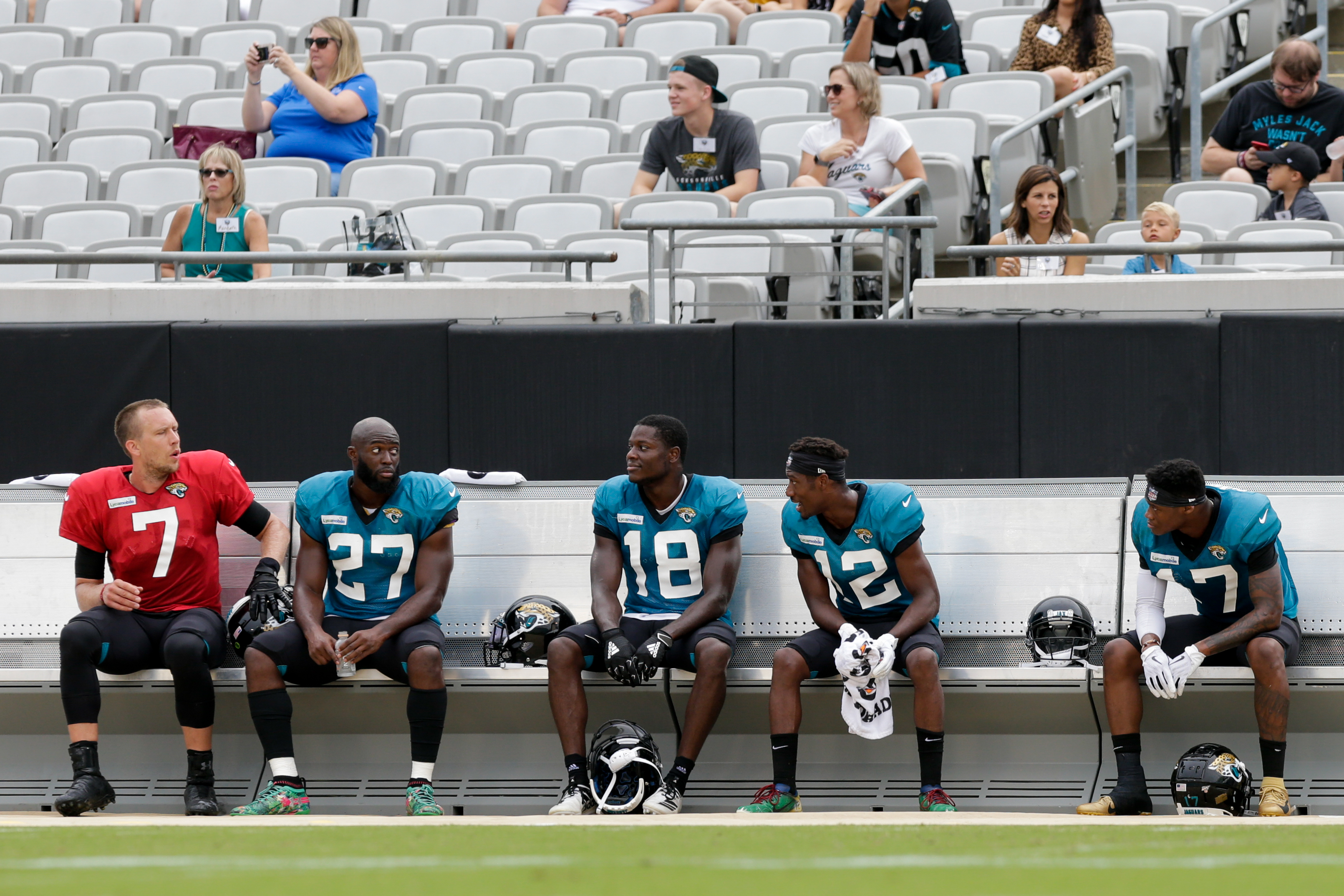 NFL: AUG 02 Jaguars Training Camp