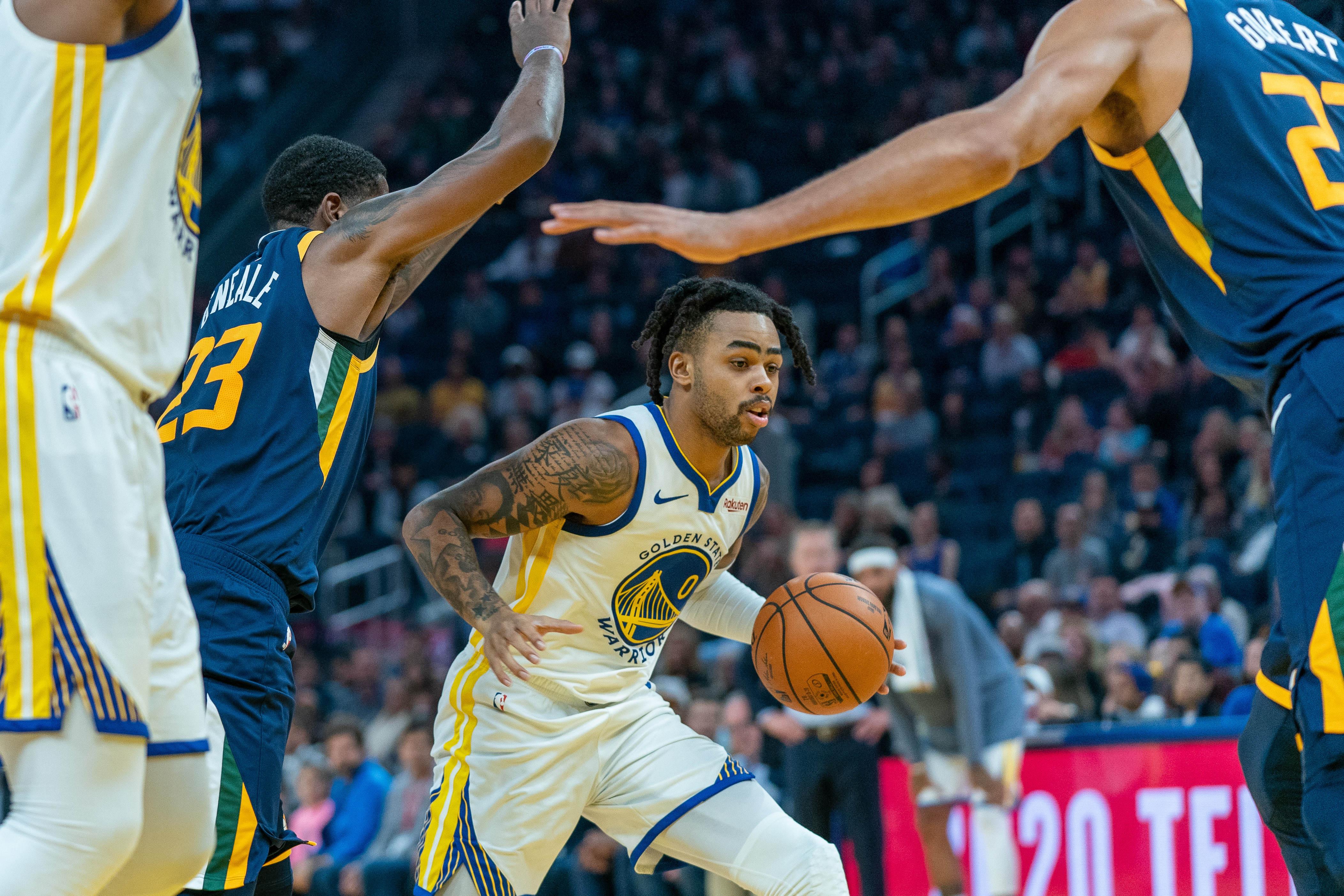 NBA: Utah Jazz at Golden State Warriors