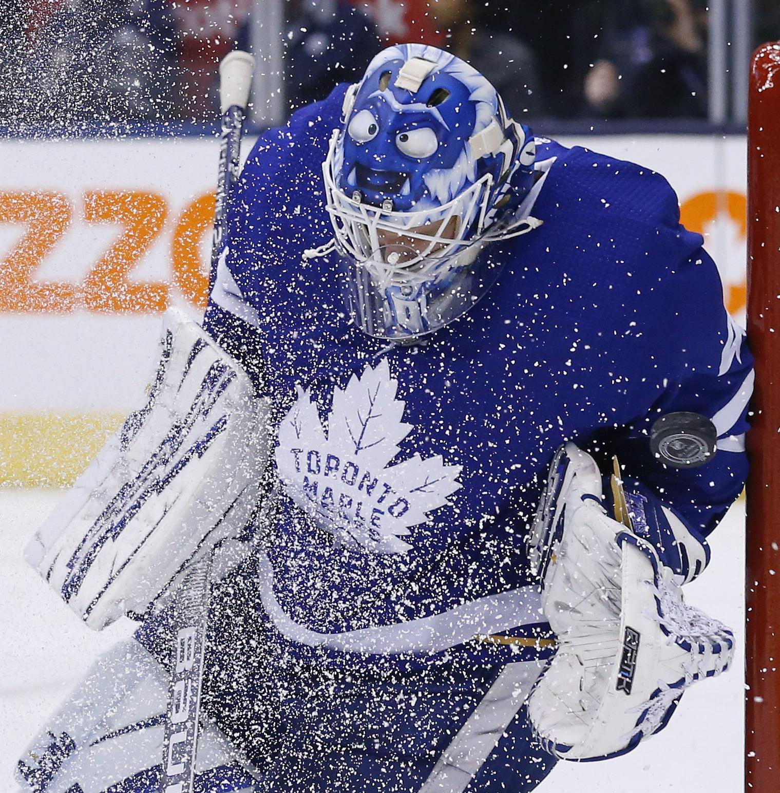 Toronto Maple Leafs goaltender Garret Sparks