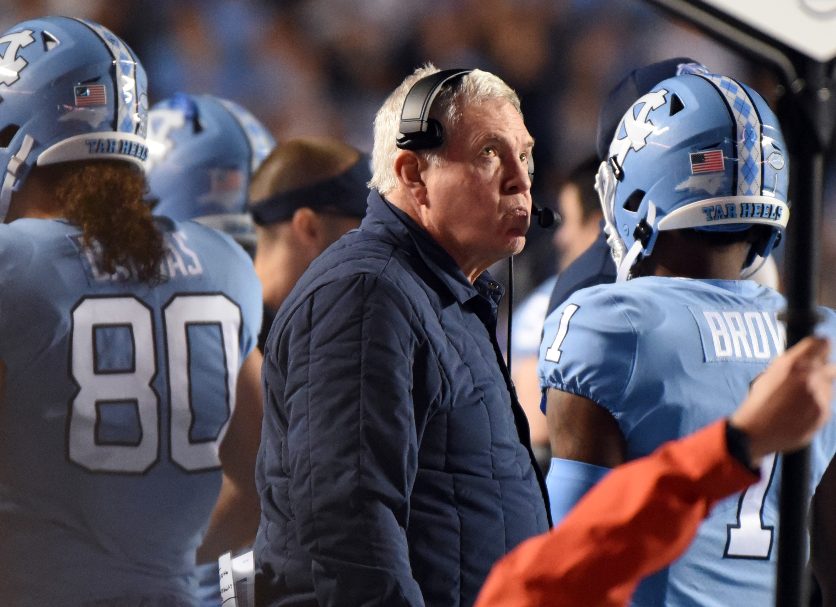 NCAA Football: Virginia at North Carolina