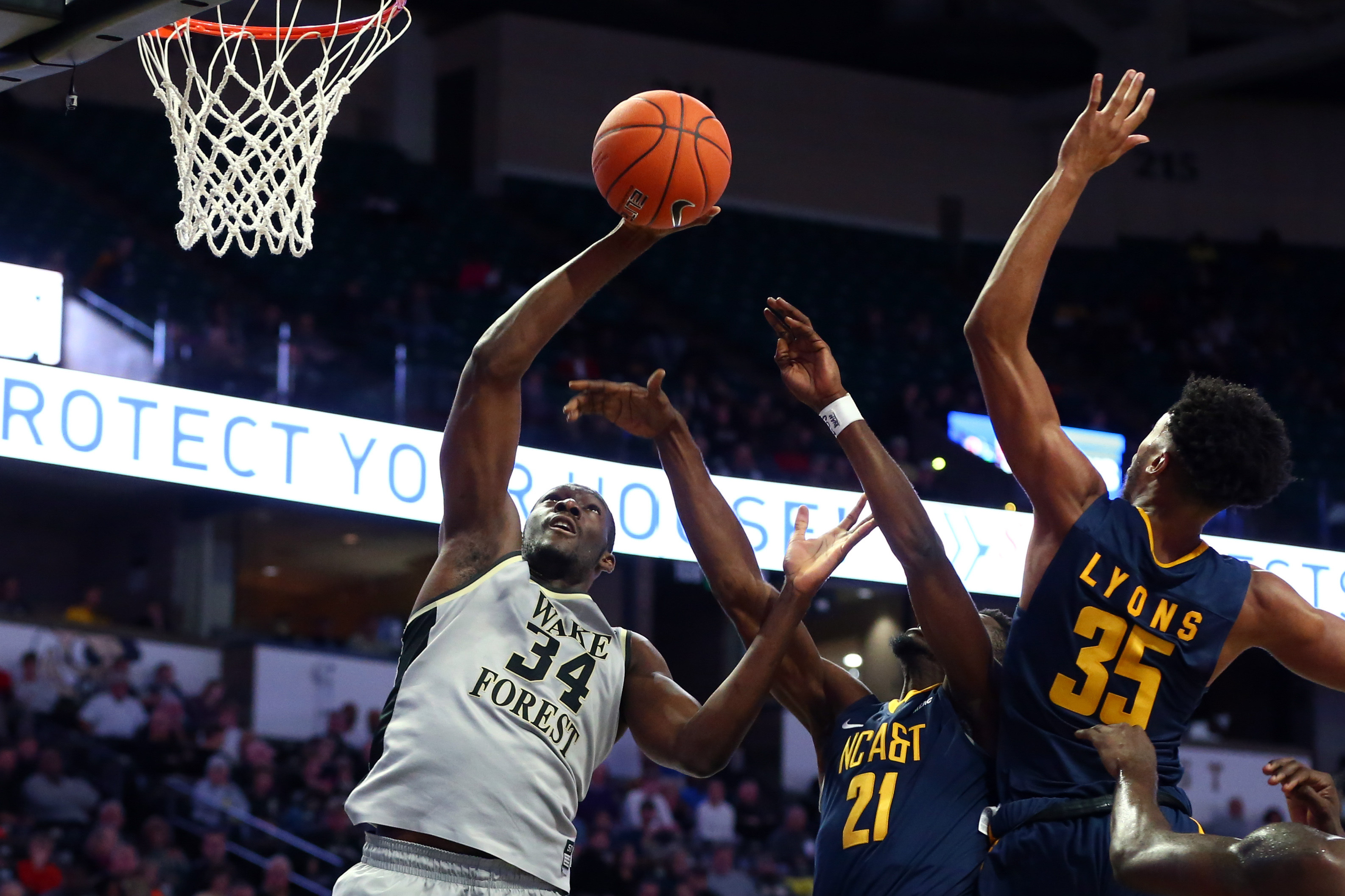 NCAA Basketball: North Carolina A&T at Wake Forest