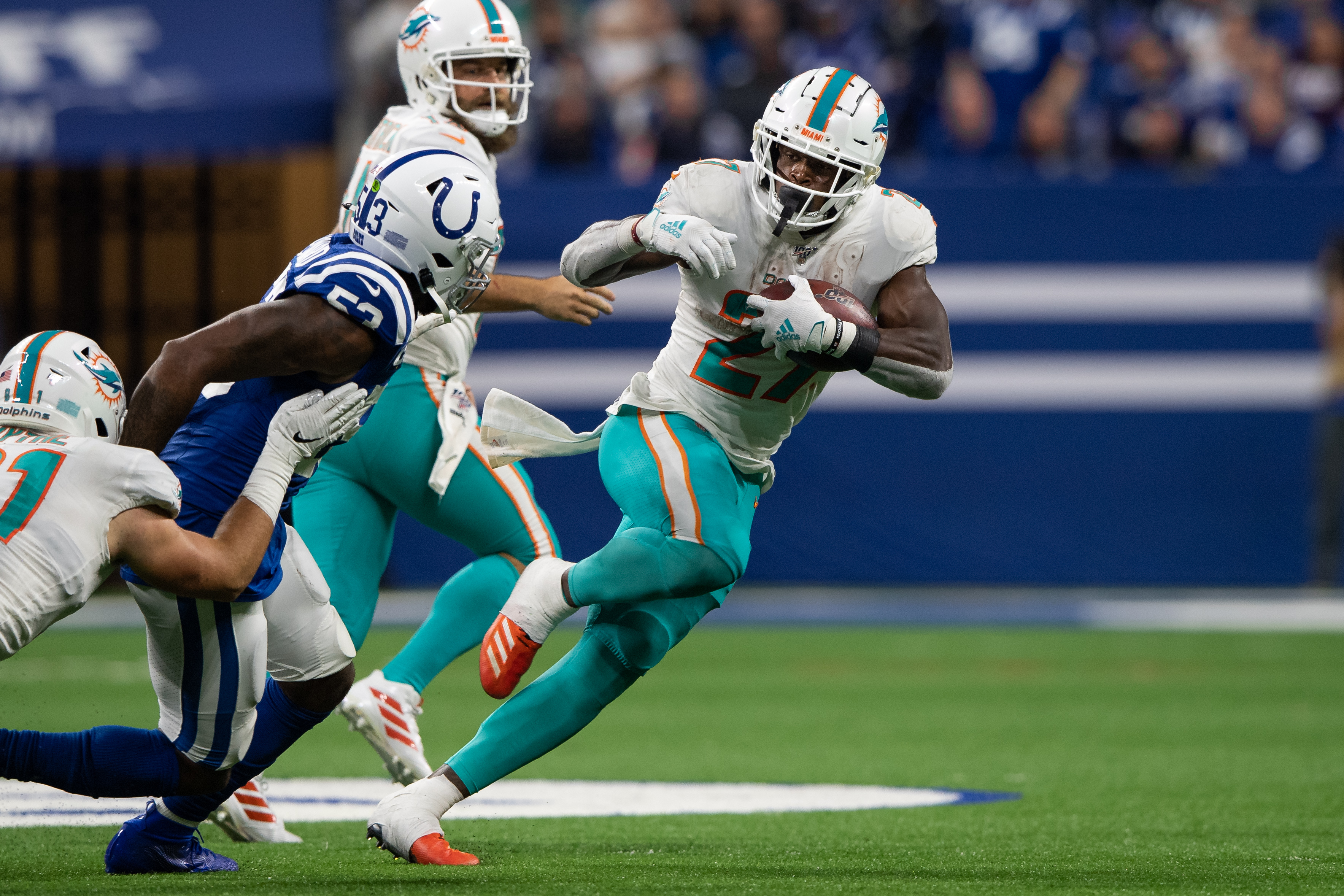 NFL: NOV 10 Dolphins at Colts