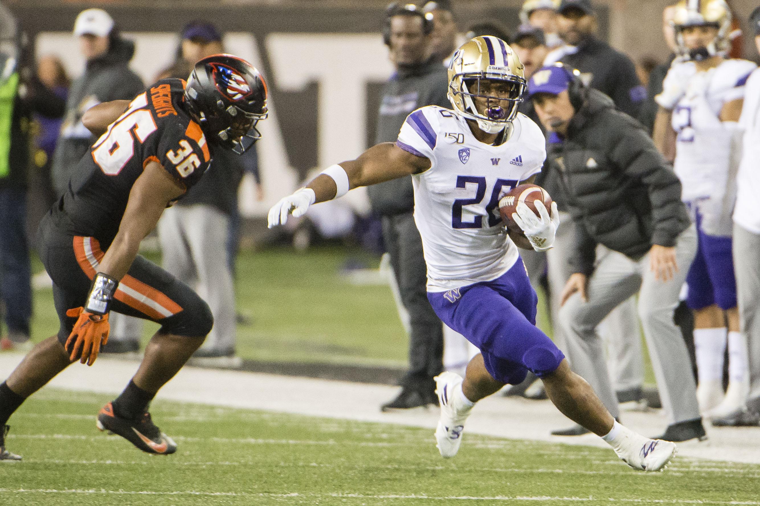 NCAA Football: Washington at Oregon State