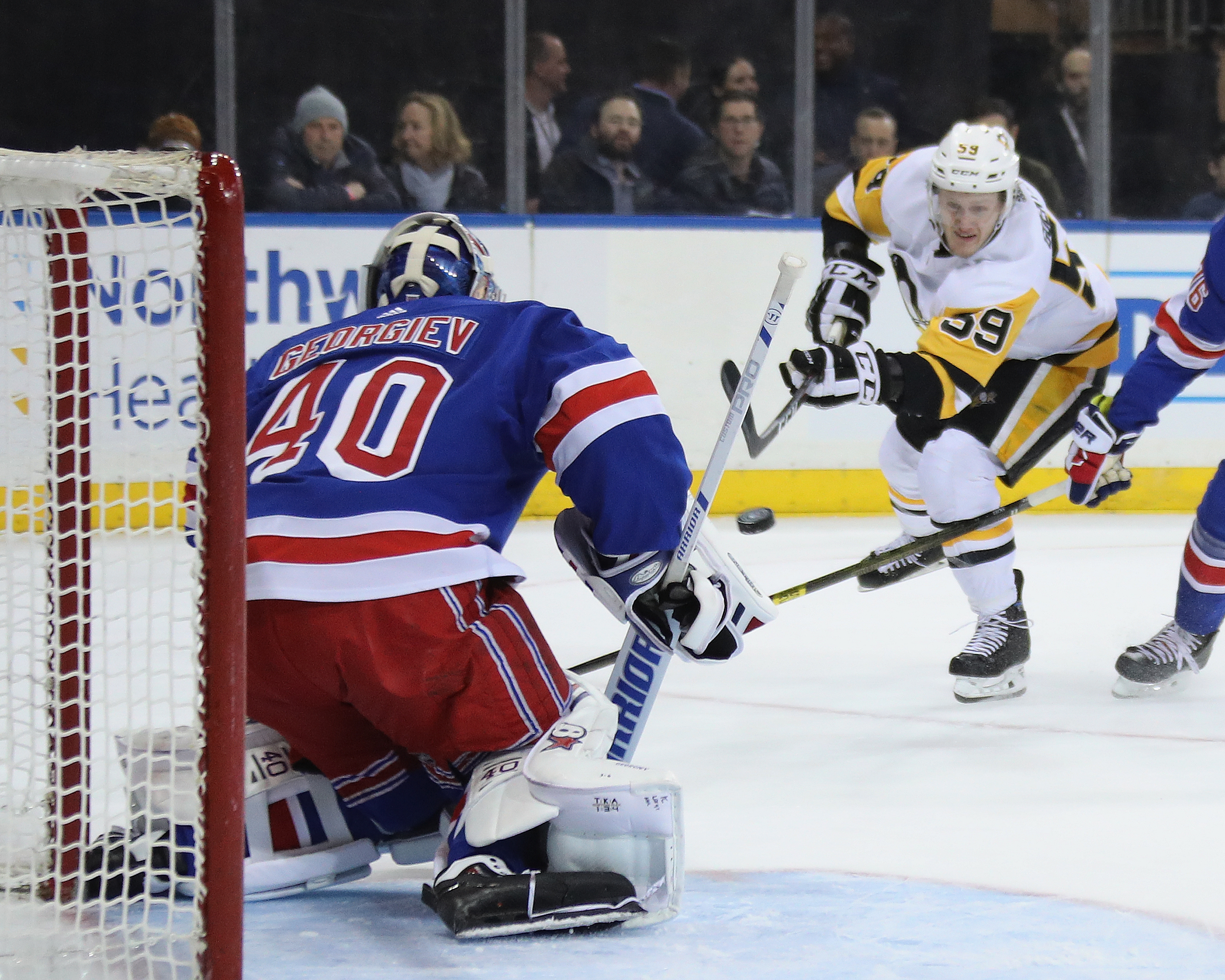 Pittsburgh Penguins v New York Rangers