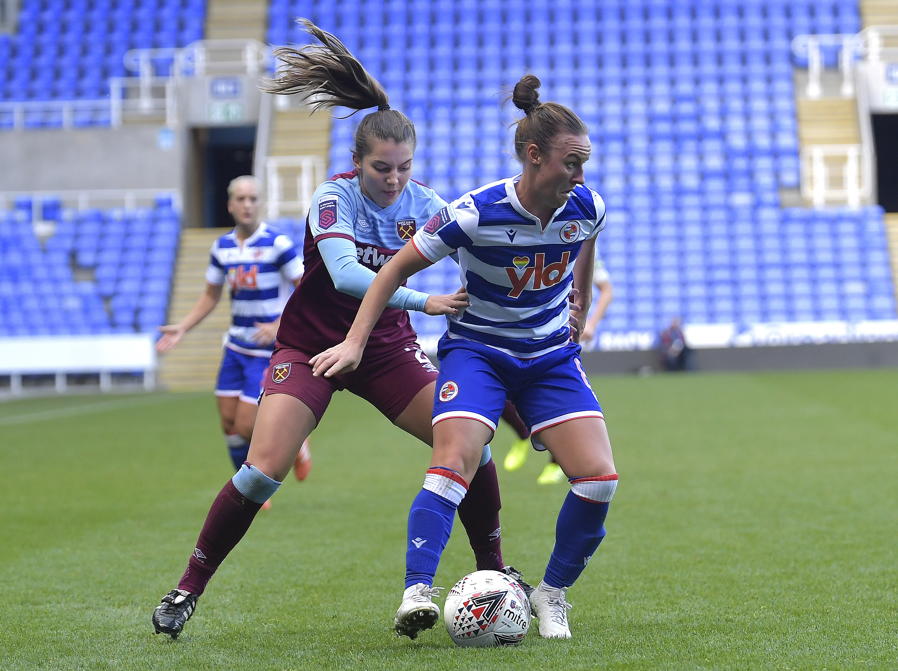 Reading Women v West Ham United Women - FA WSL Continental Cup