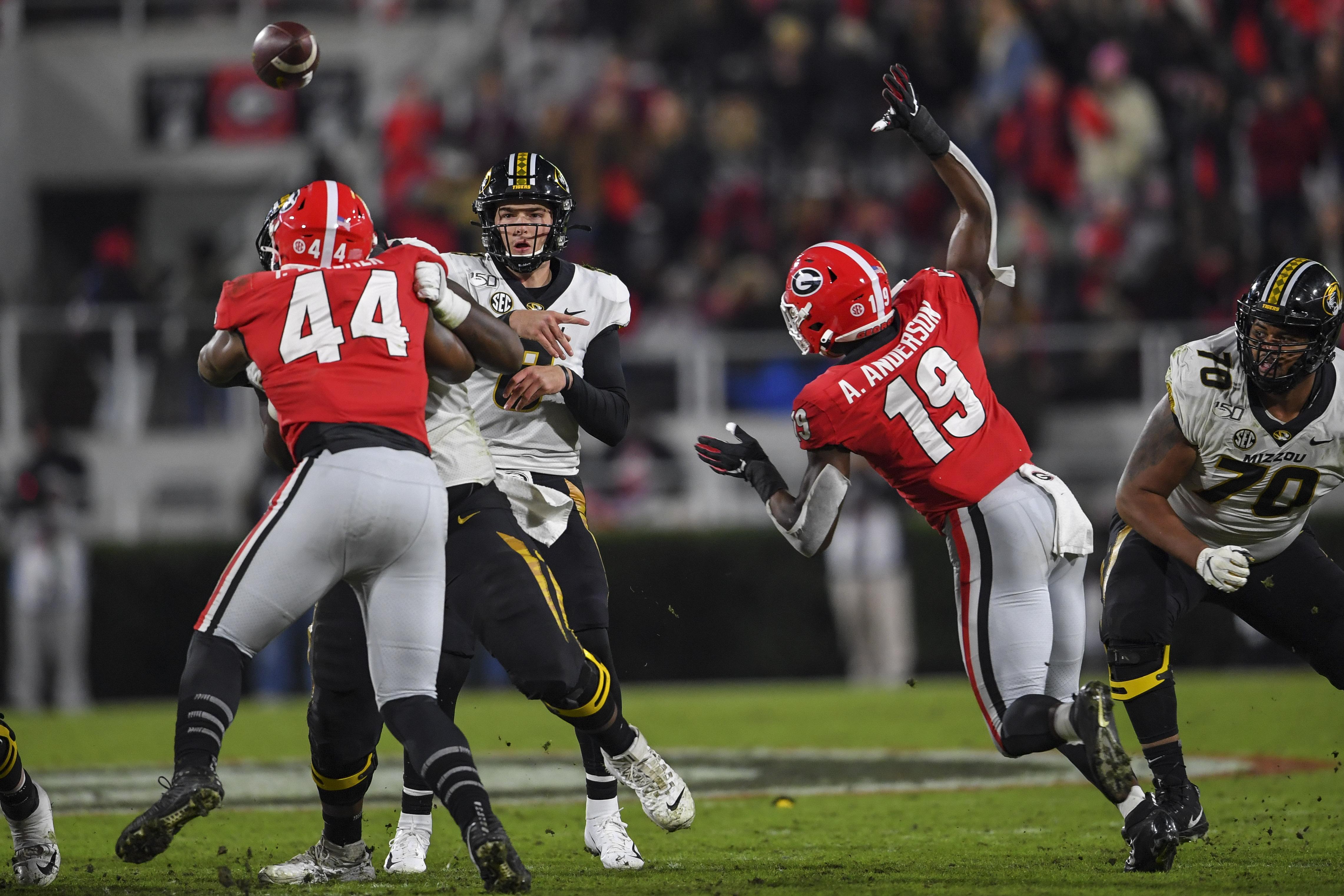NCAA Football: Missouri at Georgia