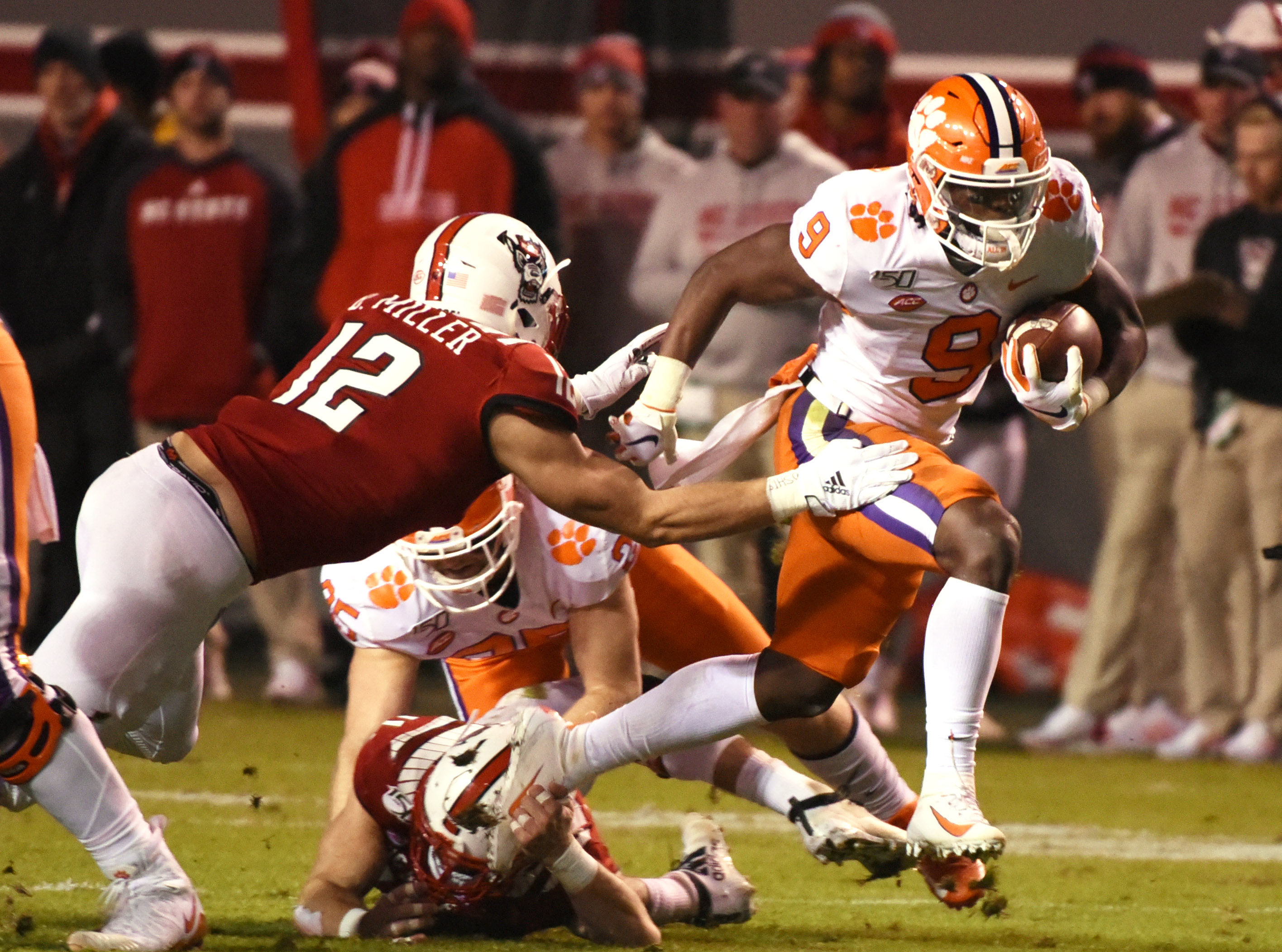 NCAA Football: Clemson at North Carolina State