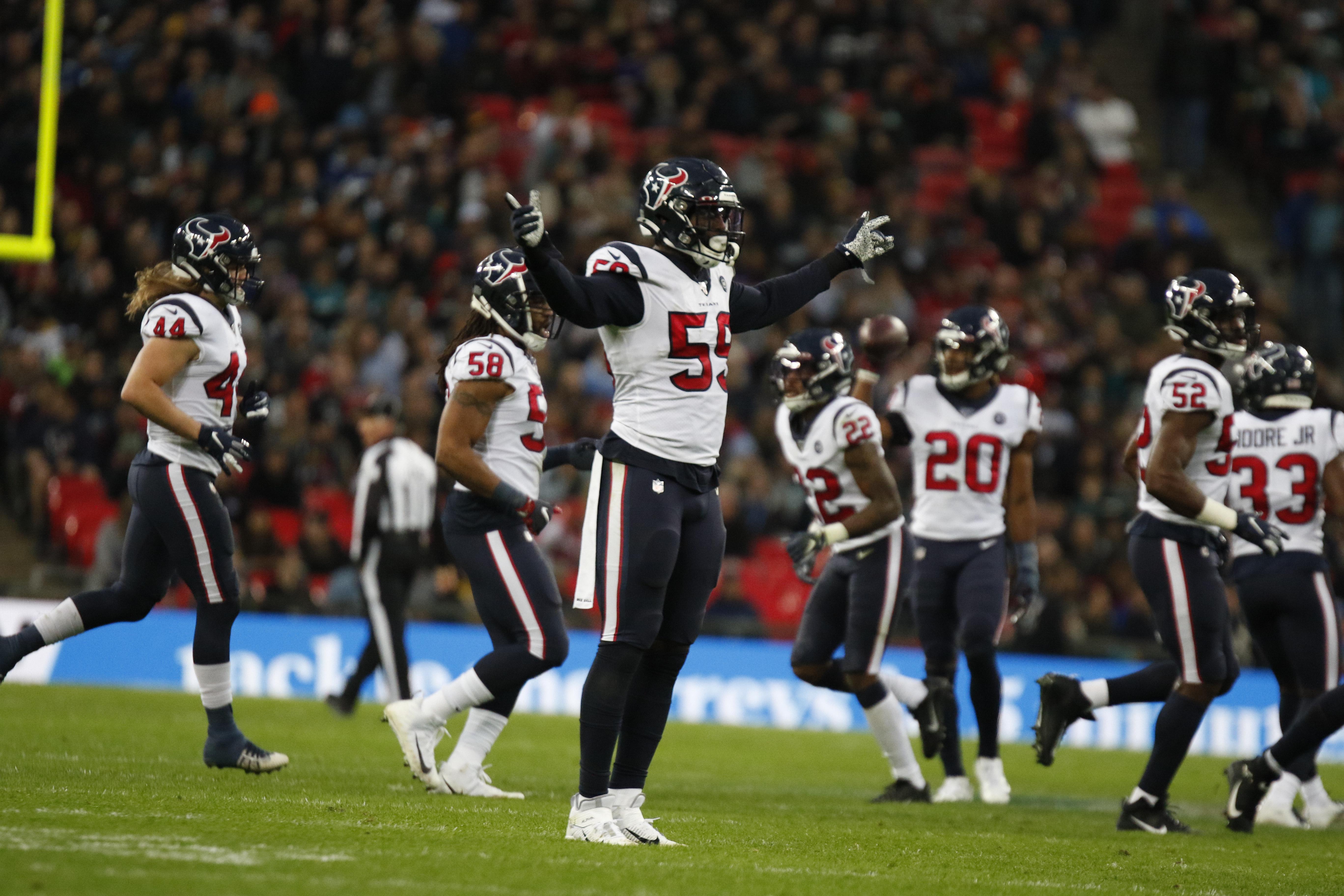 NFL: NOV 03 Texans v Jaguars